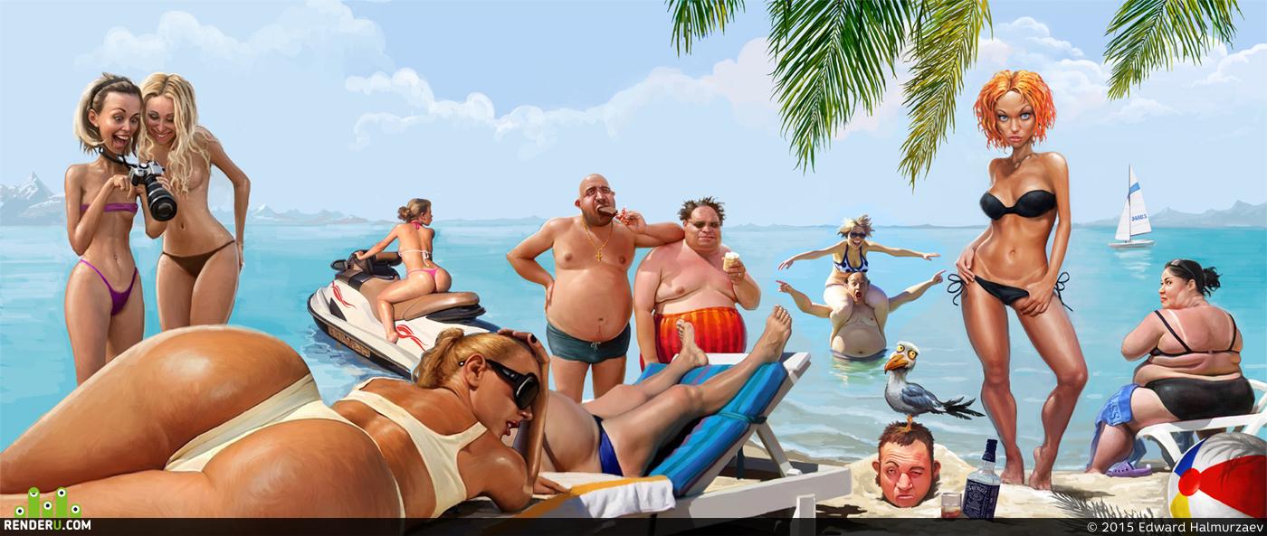 preview Пляж
