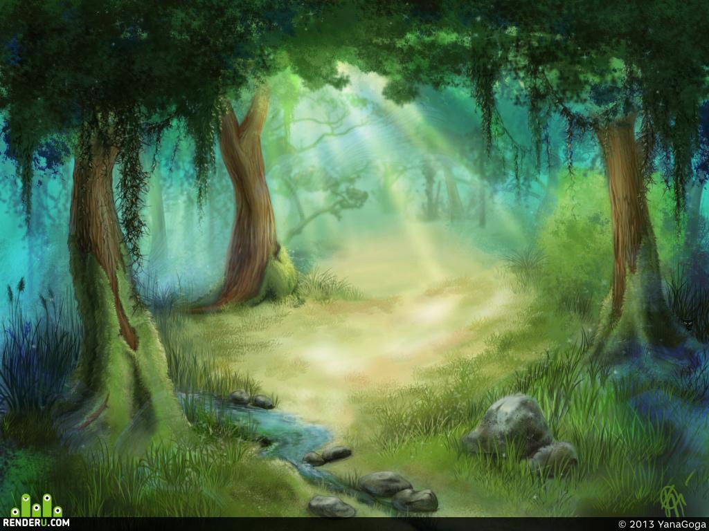 preview Сказочный лес