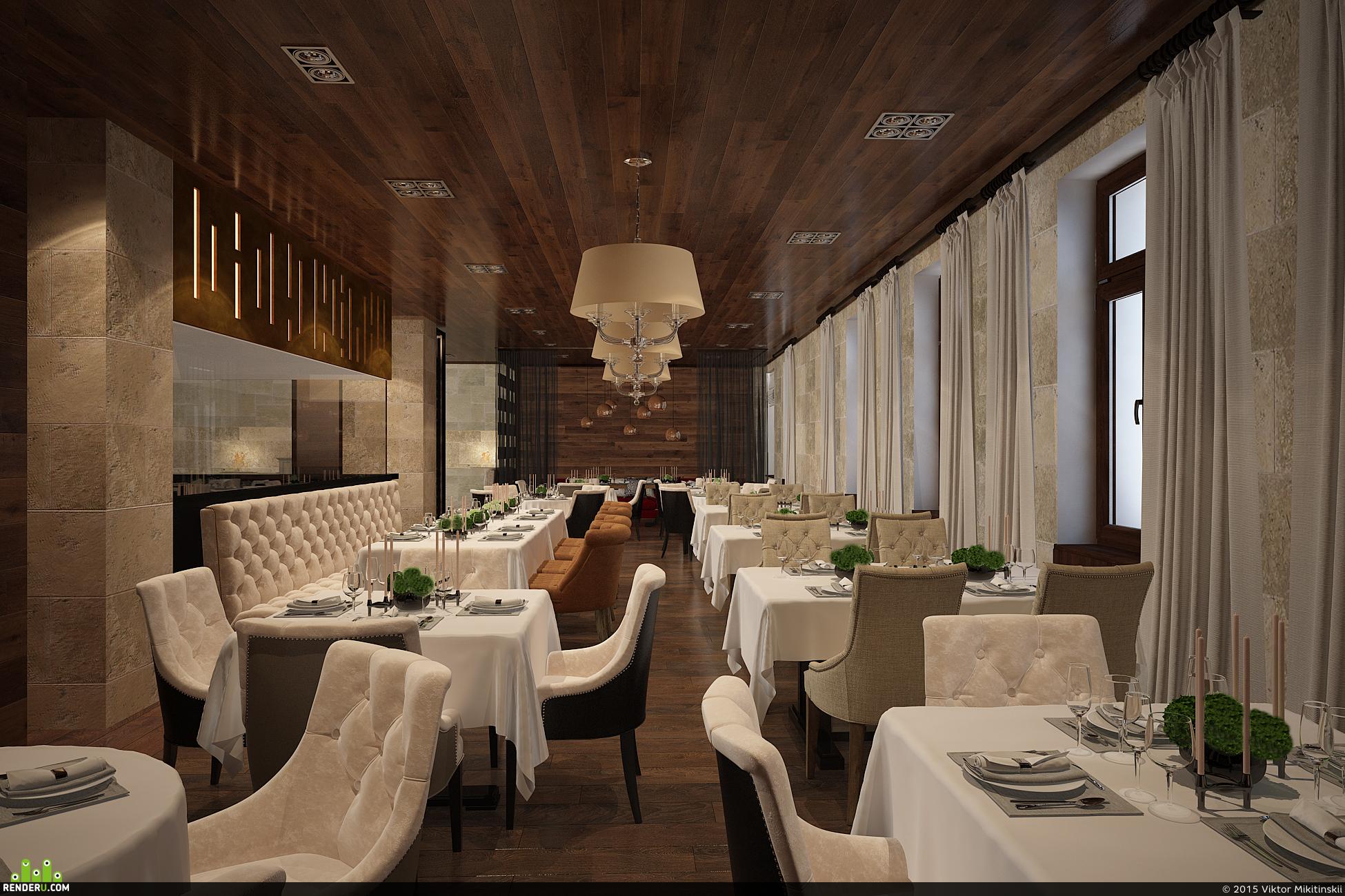 preview Визуализация ресторана