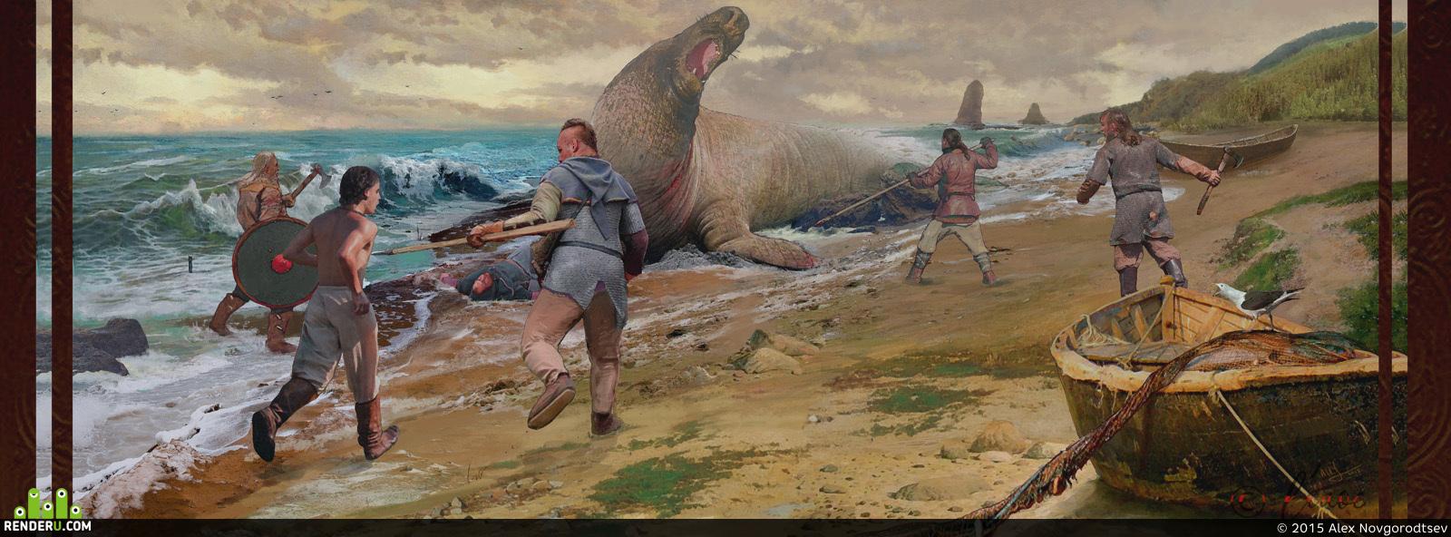 preview Морской великан