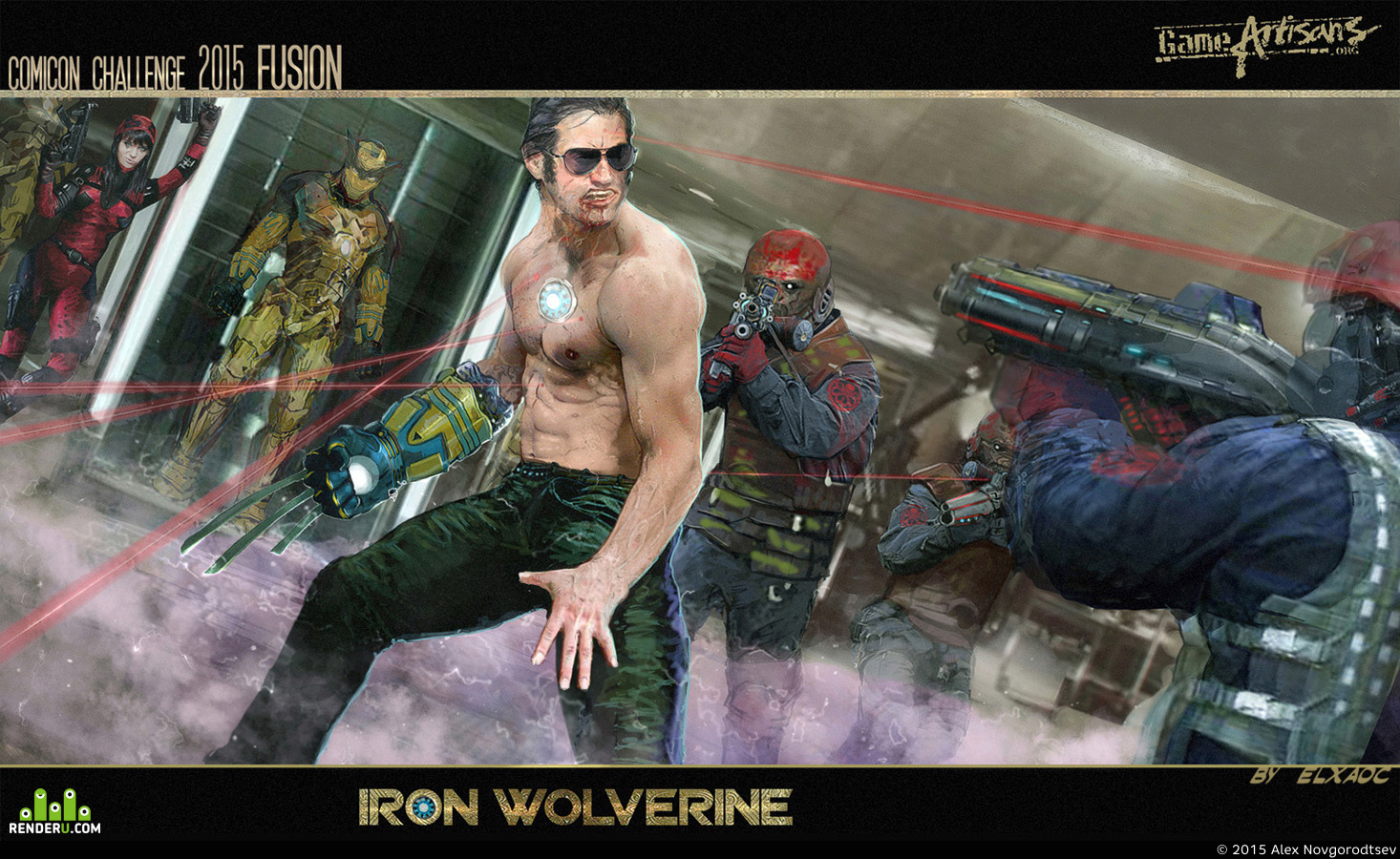 preview Iron wolverine