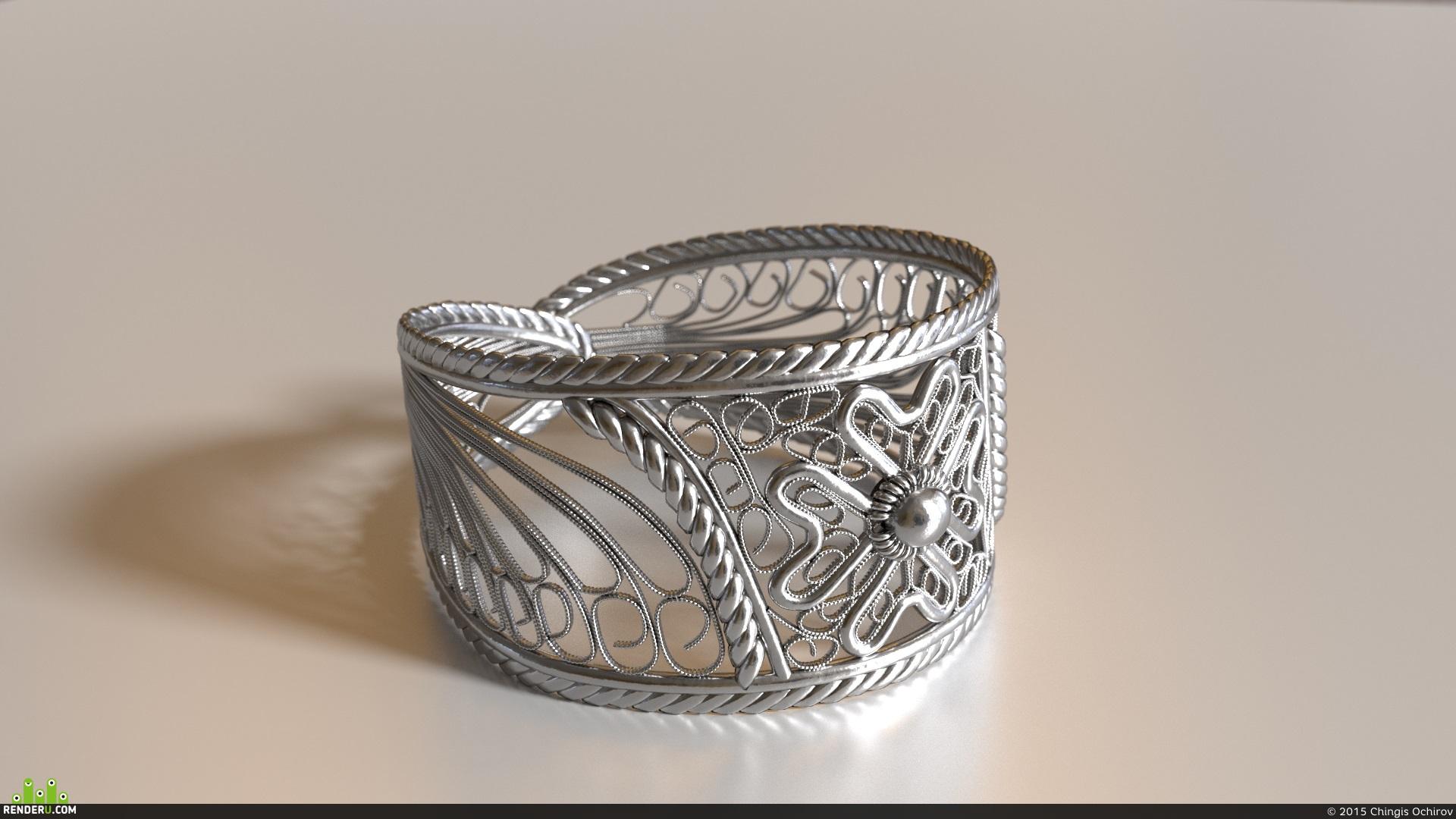 preview Мальтийское серебряное кольцо