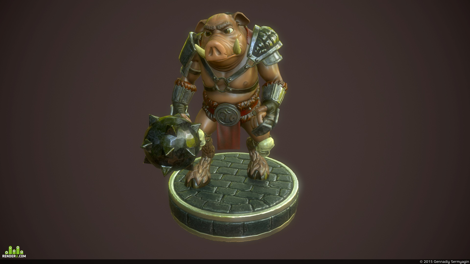 preview Warrior Boar