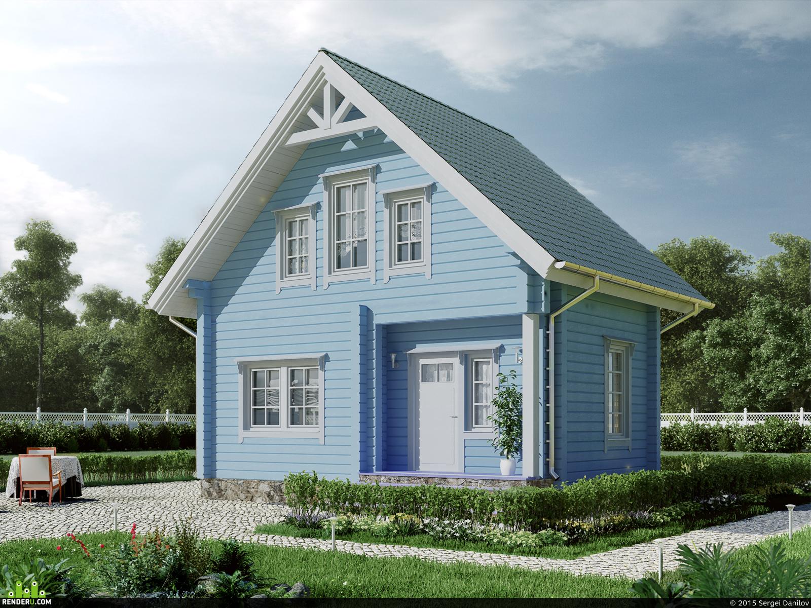 preview Маленький дом