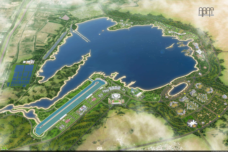 preview Куртлинское озеро в г. Ашхабад