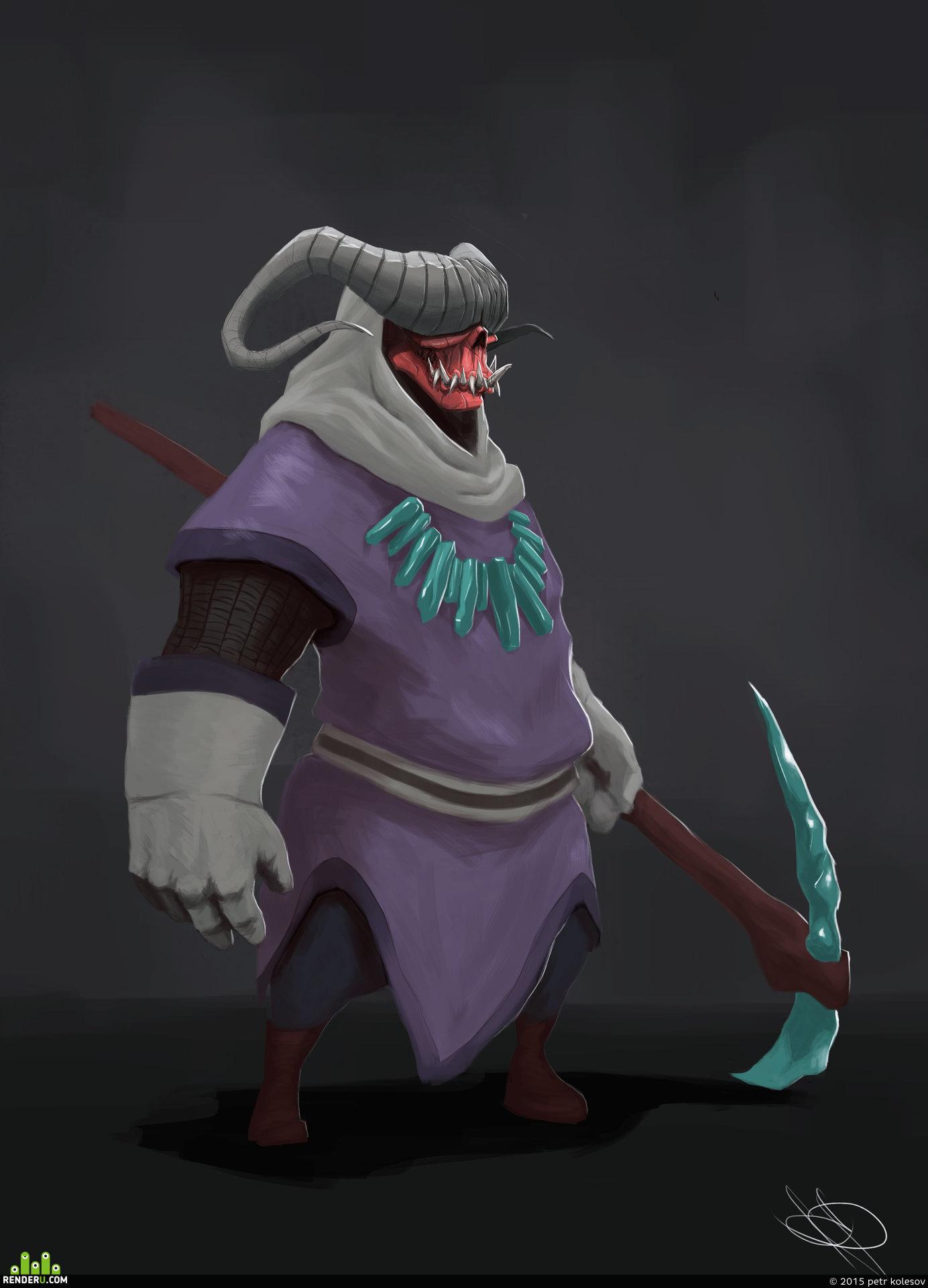 preview демон маг