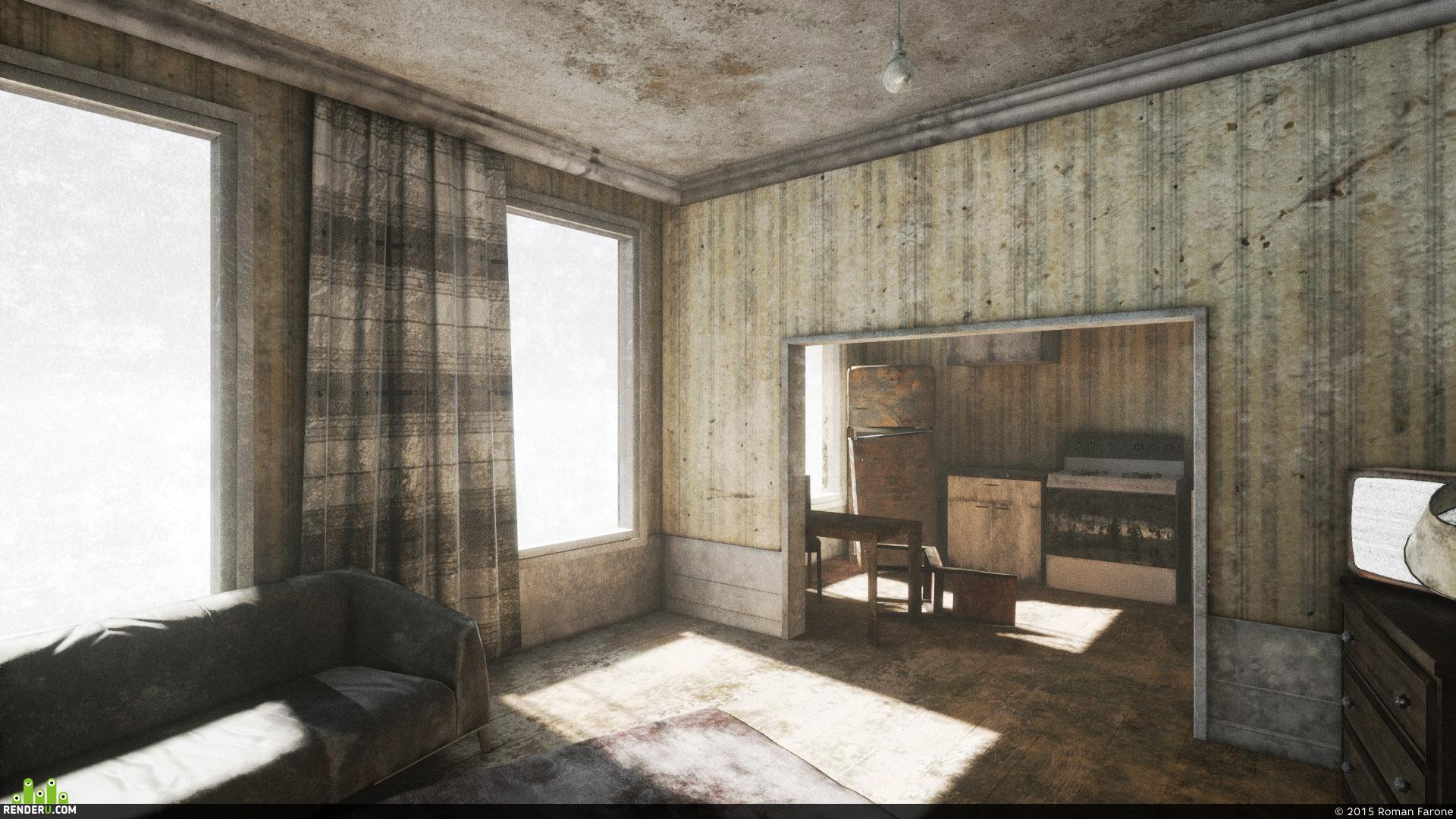 preview Заброшенный дом