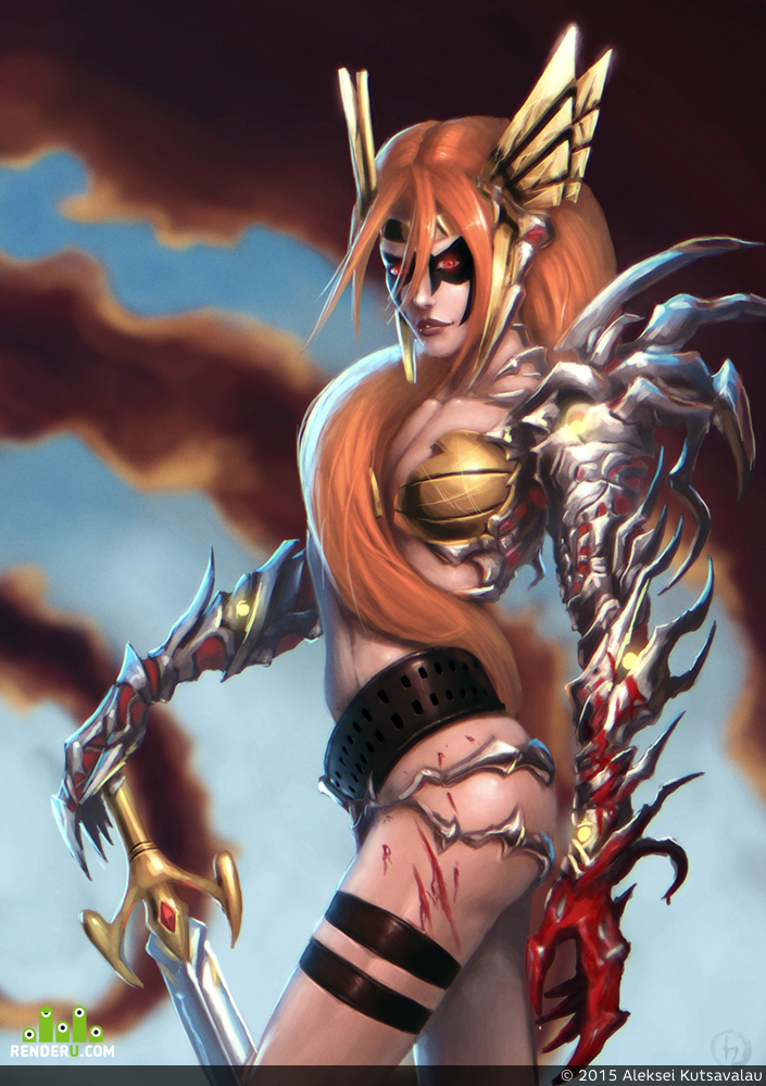 preview Angela Witchblade