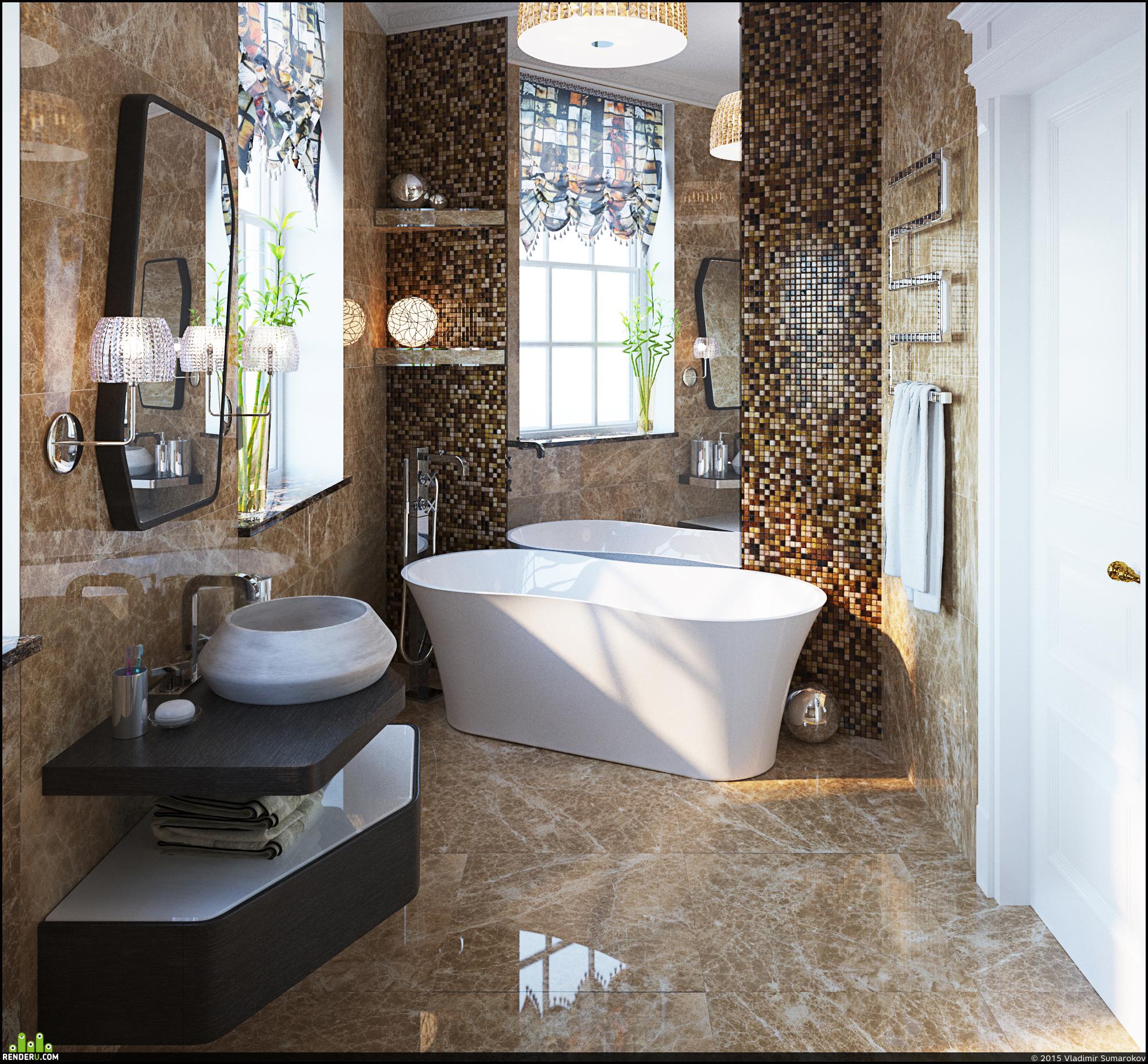 preview Ванная в частном доме