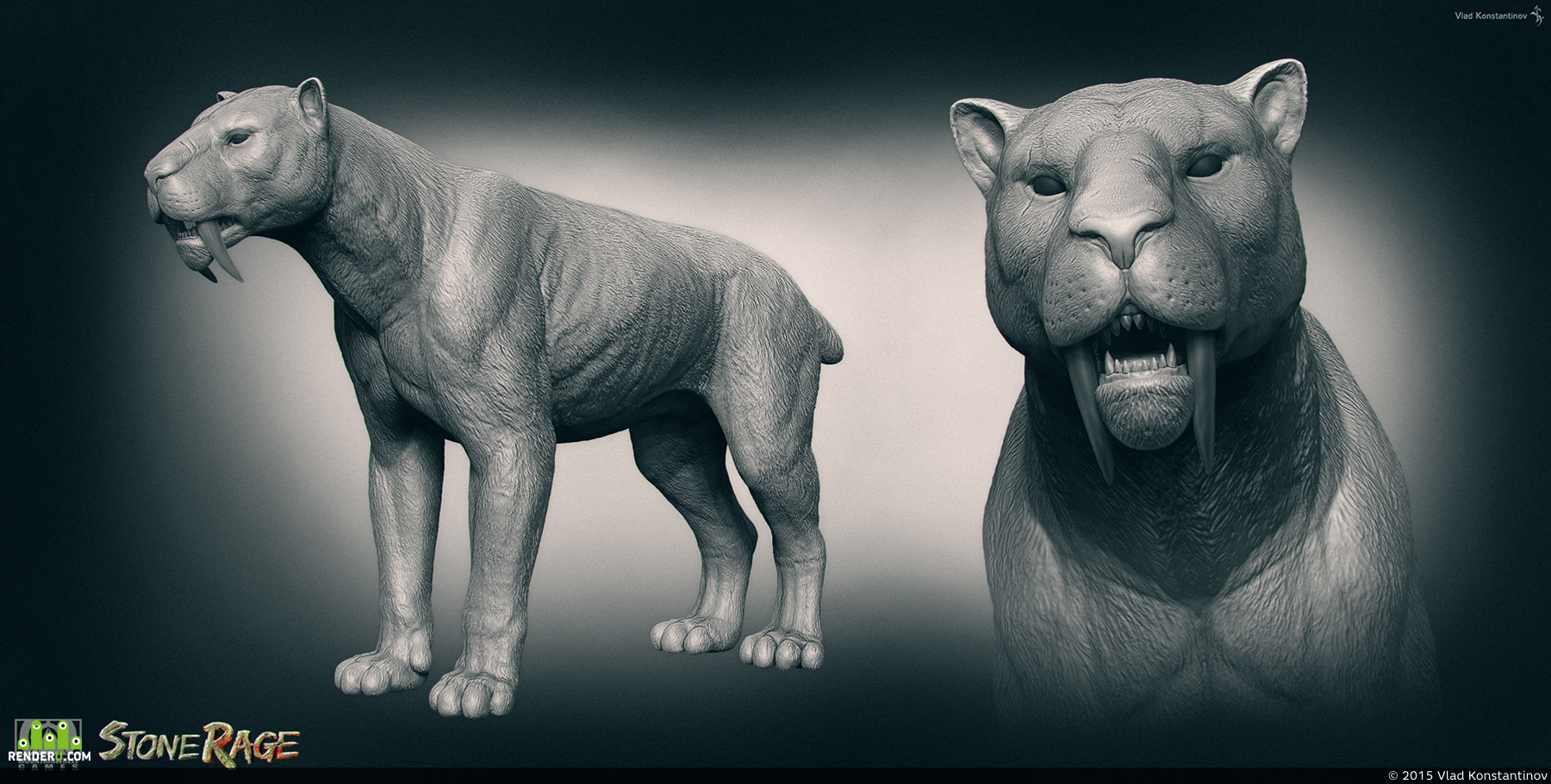 preview Saber-Tooth. Stone Rage.