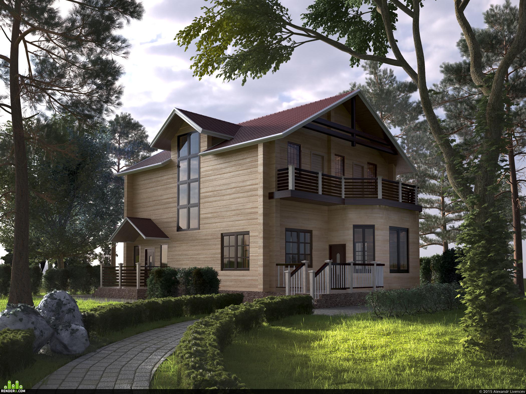 preview Дом из бруса