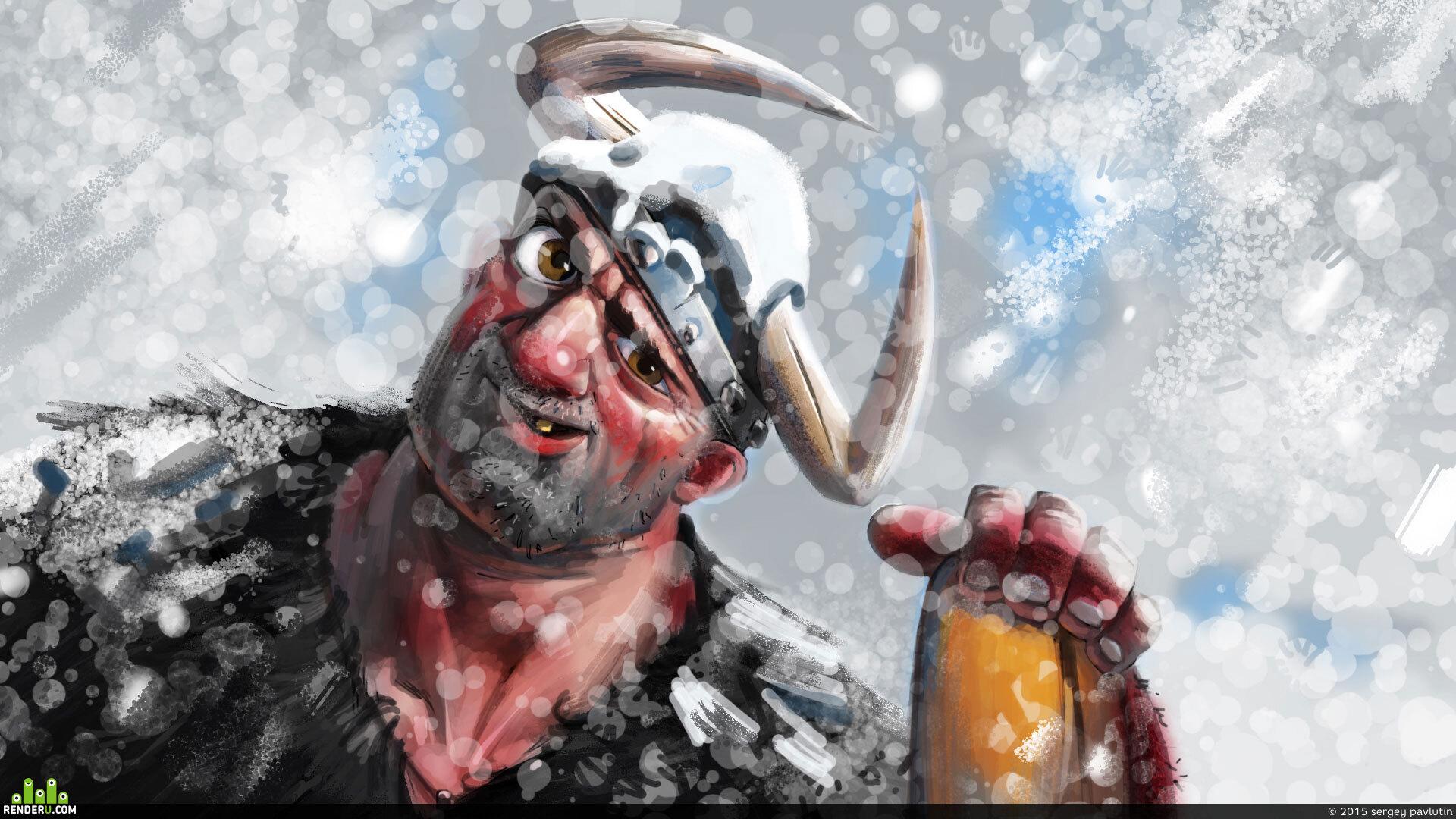 preview Викинг. Зима.
