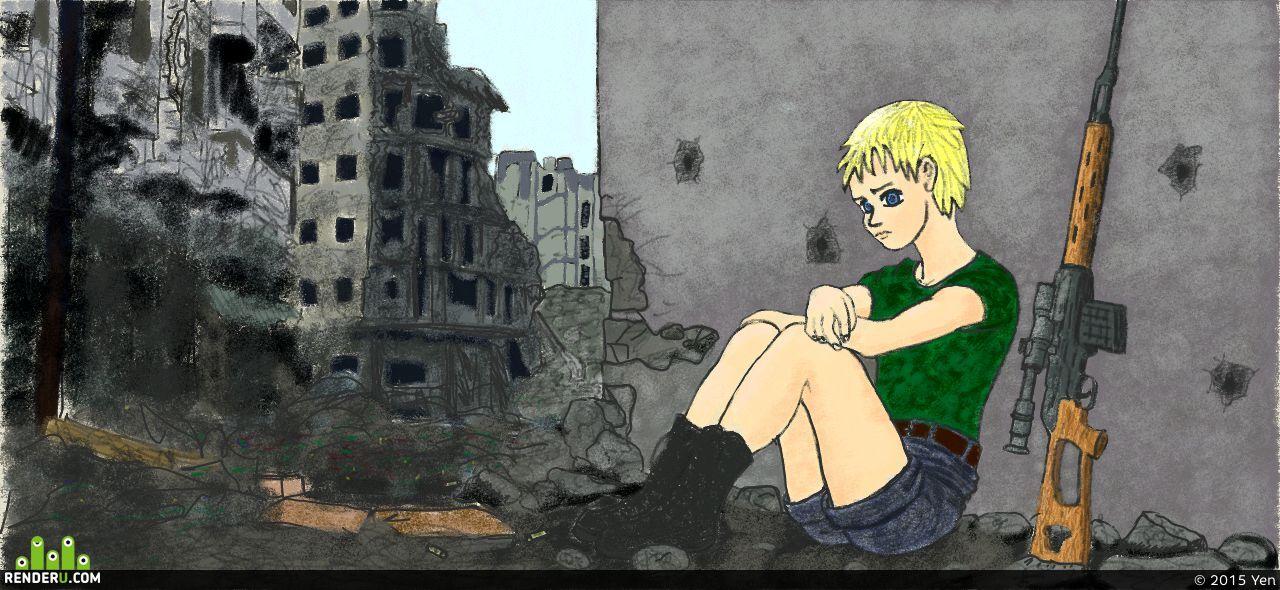 preview В разрушенном городе