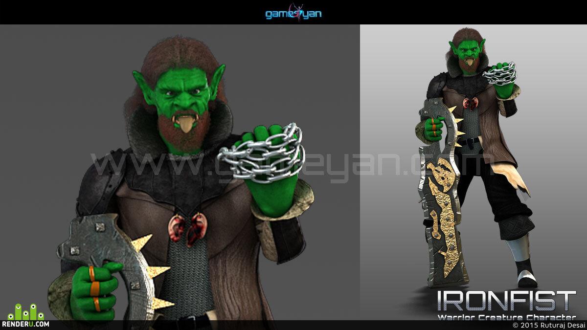 preview 3D Анимация персонажей и моделирование
