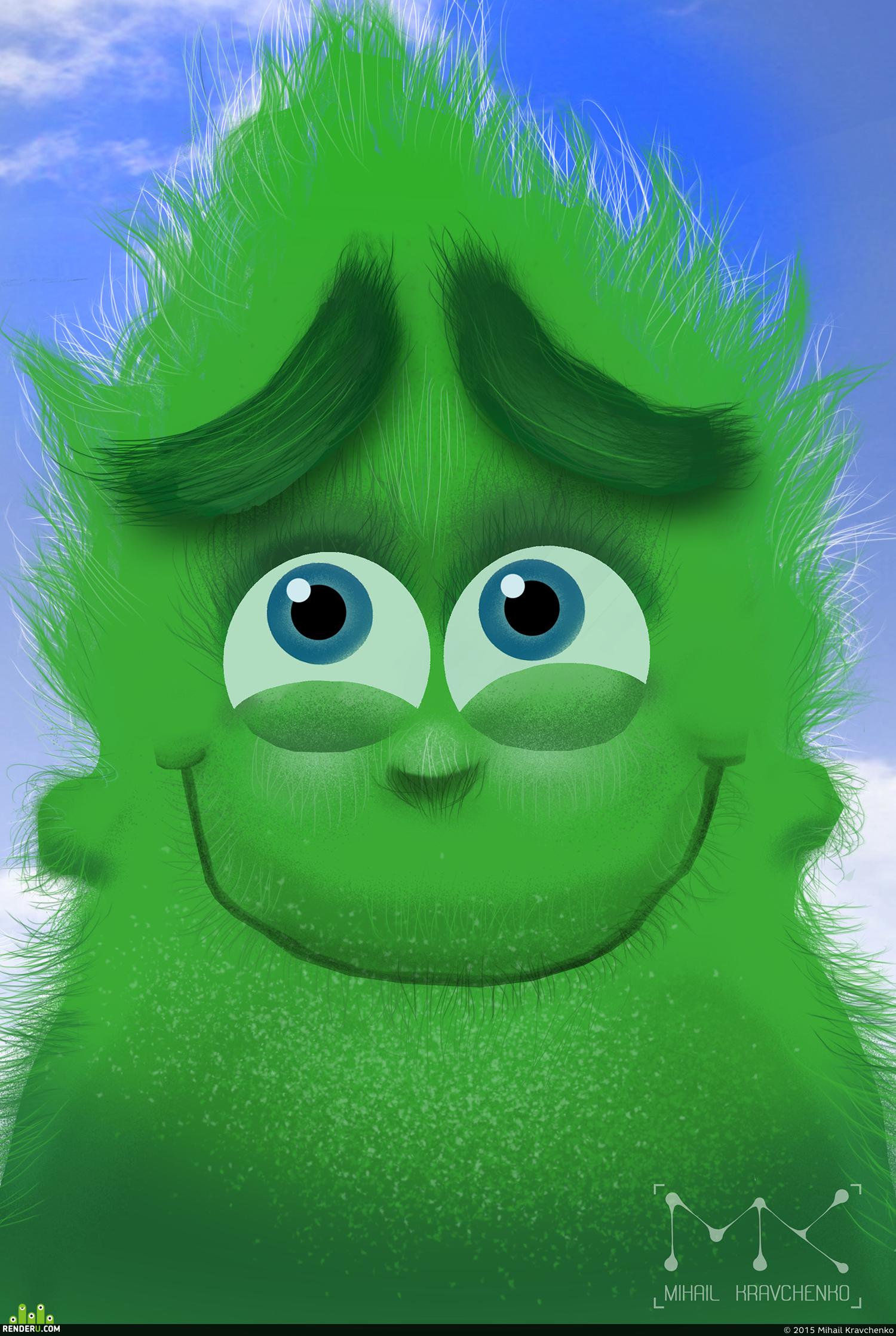 preview Зеленый весельчак