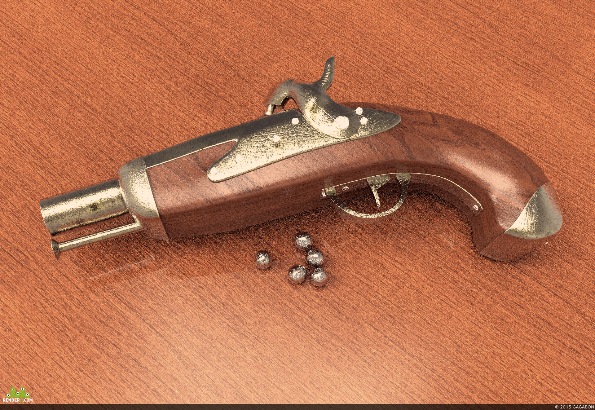 preview Пистолет
