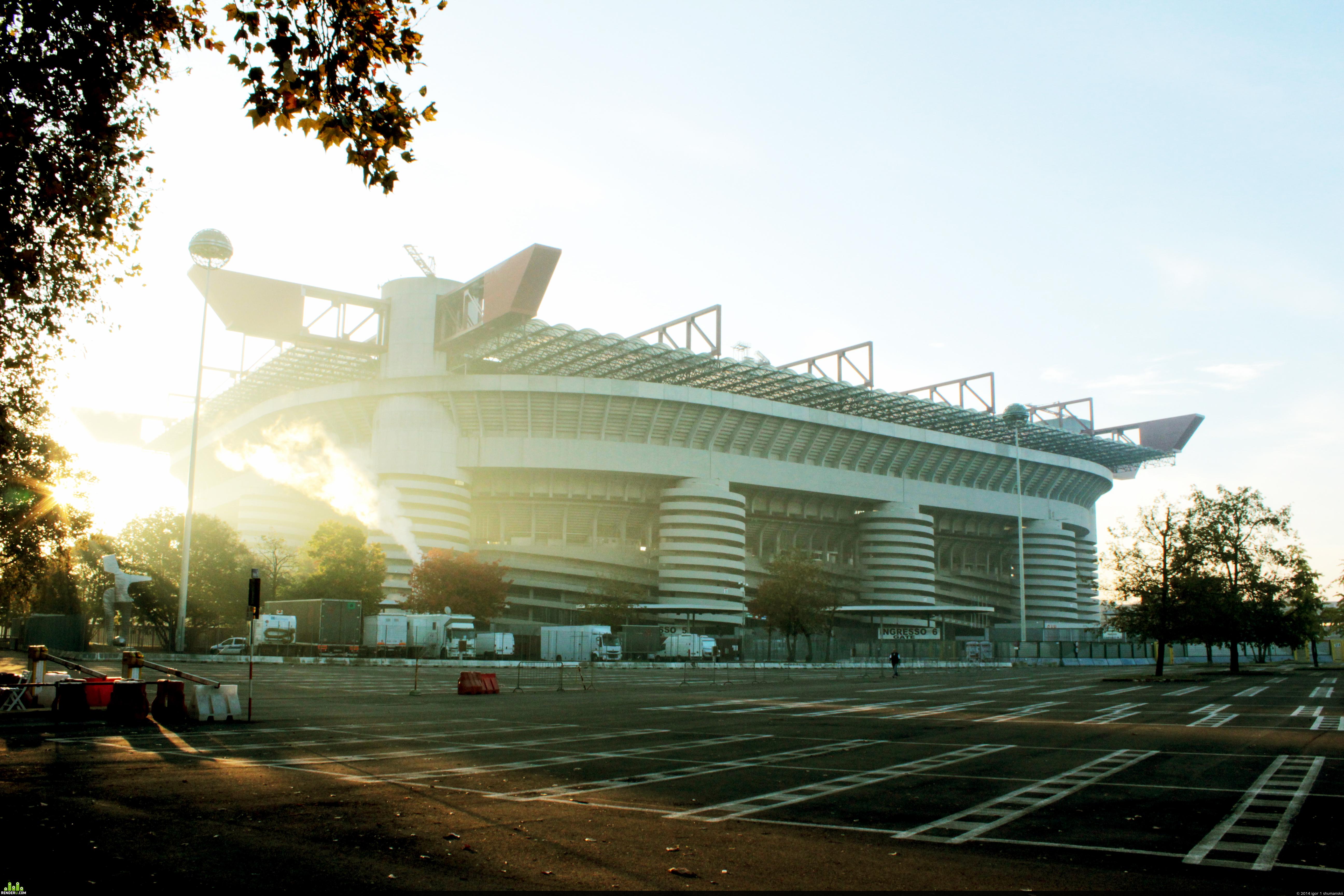 preview Стадион Сан Сиро. Милан