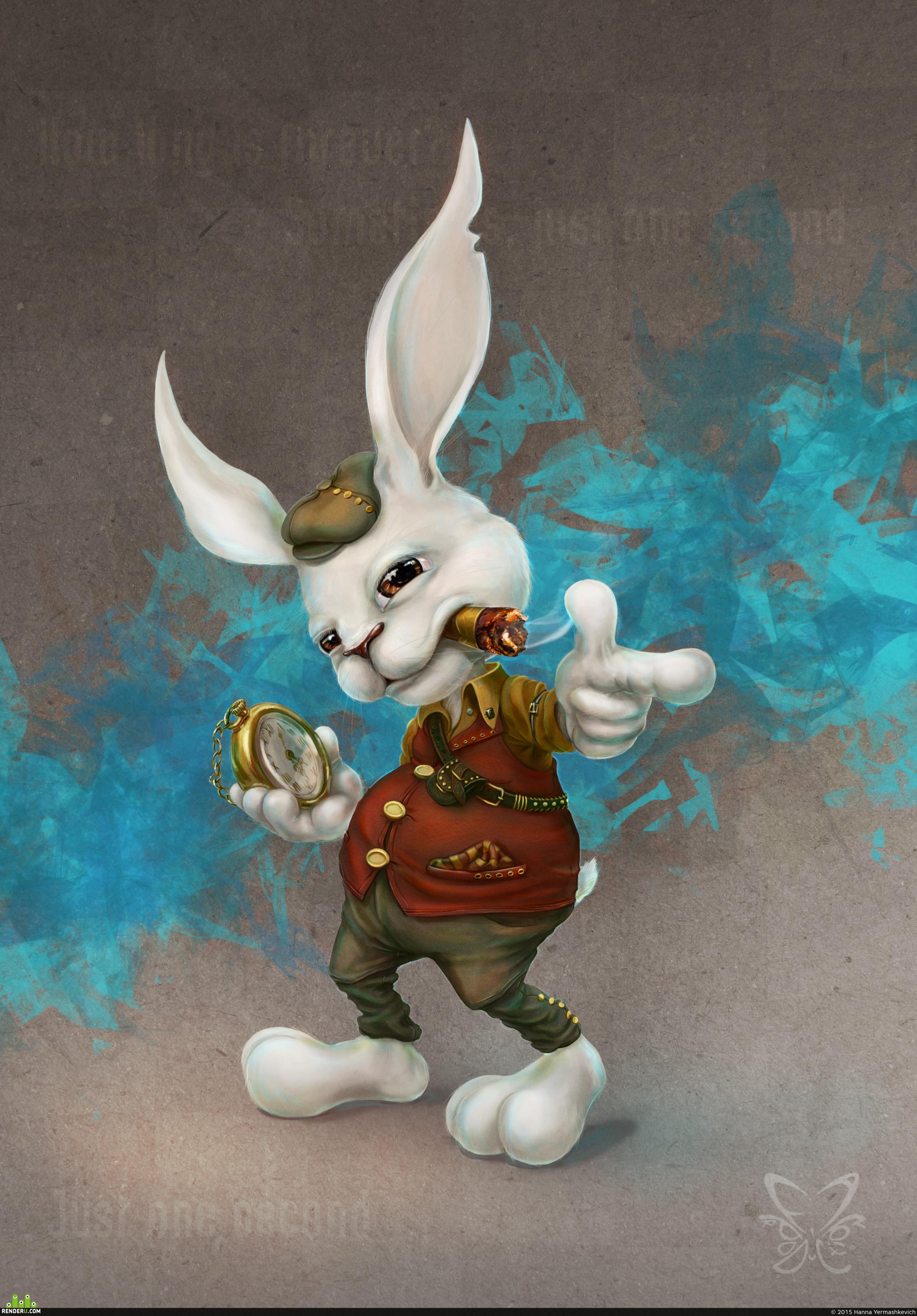 preview Белый кролик
