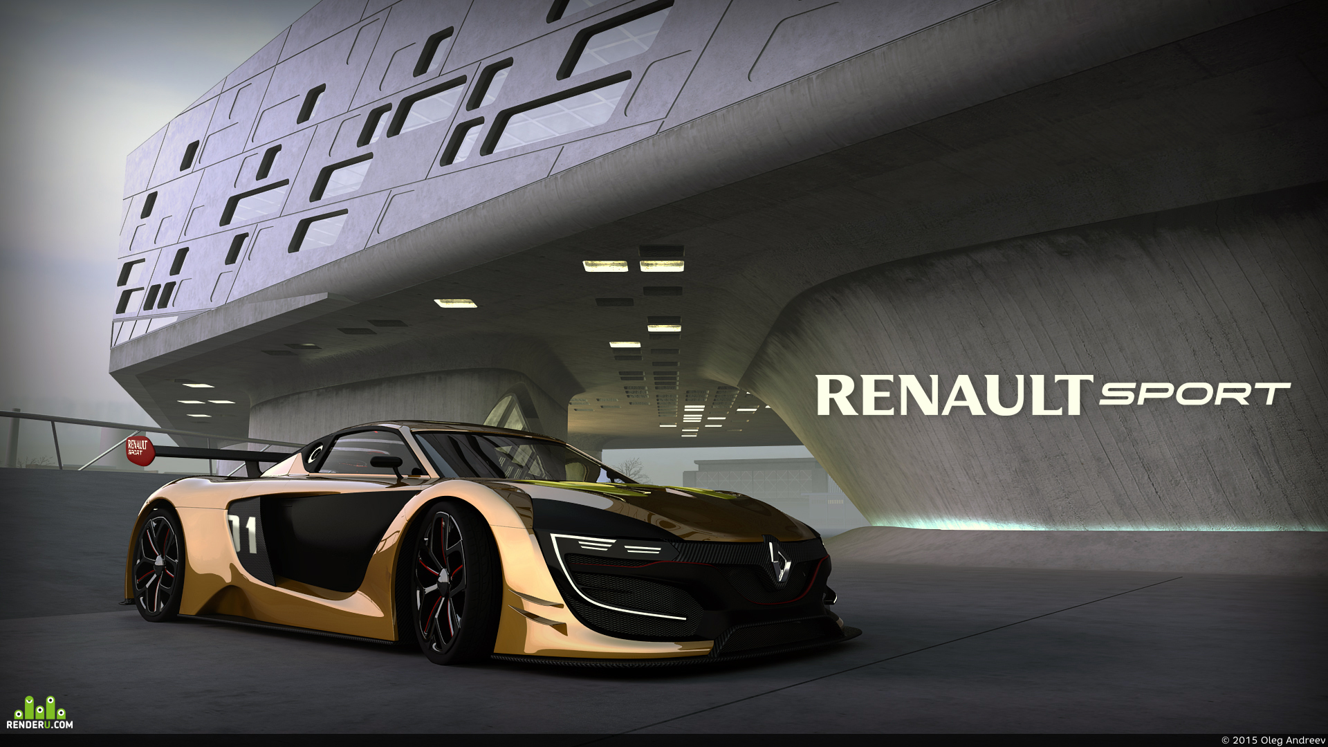 preview Суперкар RENAULT R.S.01