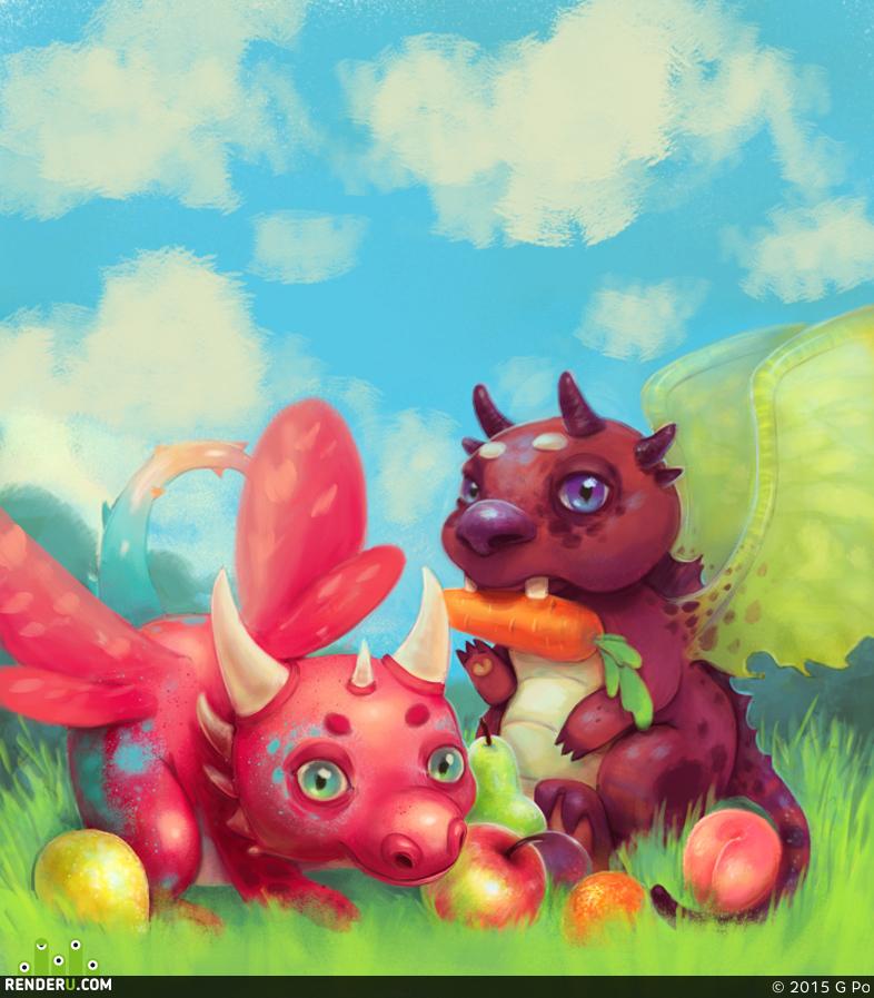 preview lil'dragon