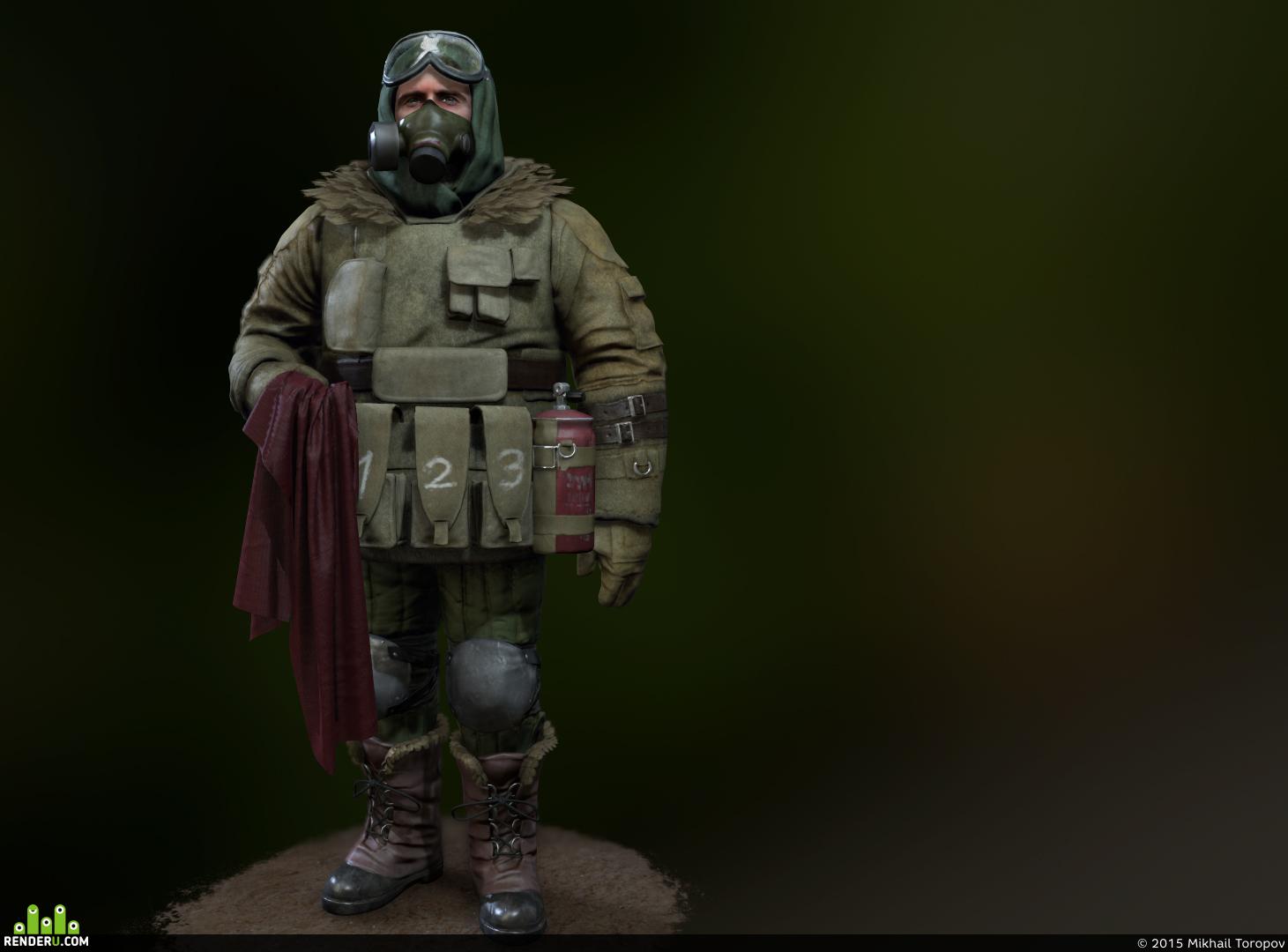 preview Солдат\сталкер