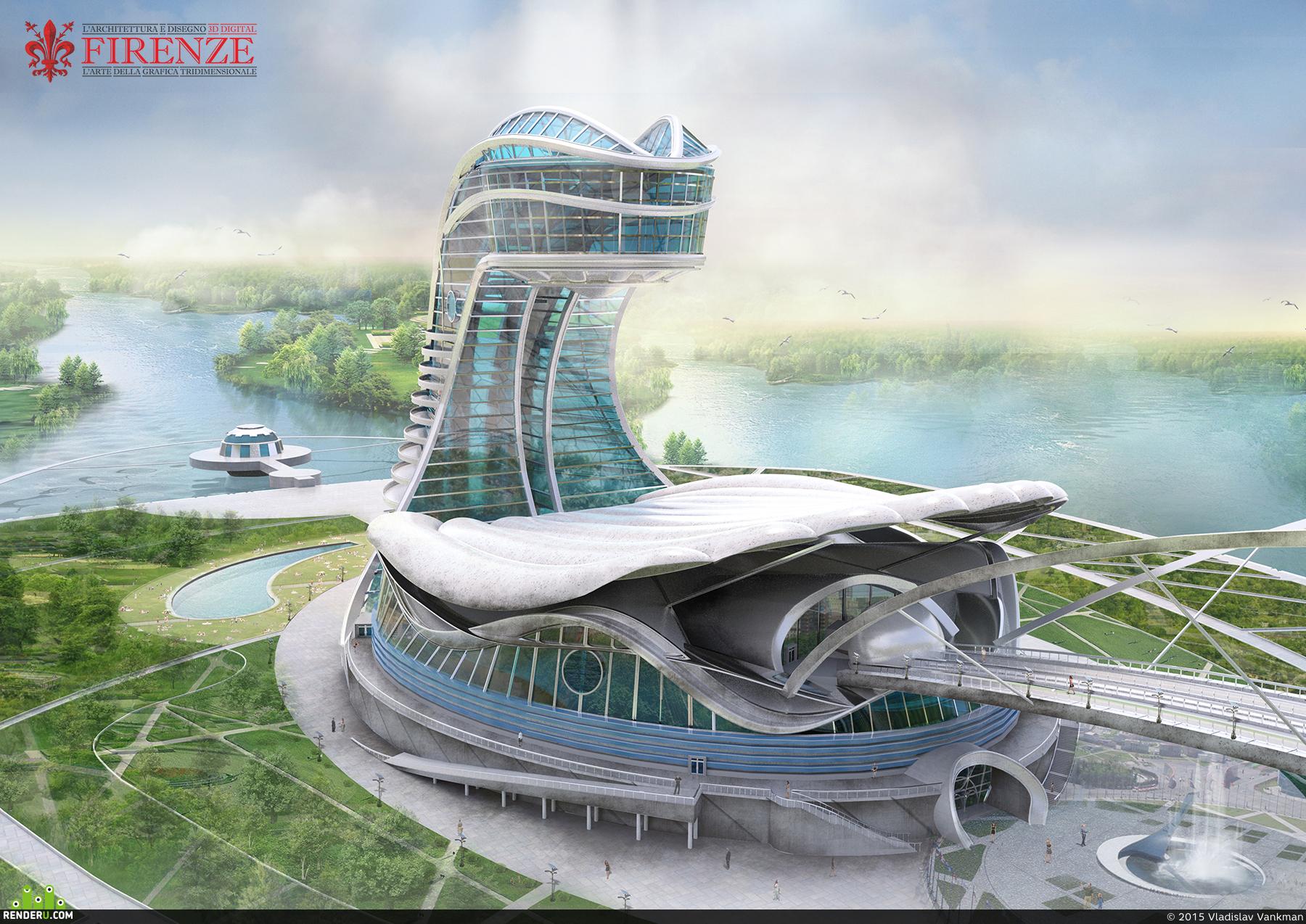 preview Гостиничный комплекс в морской тематике