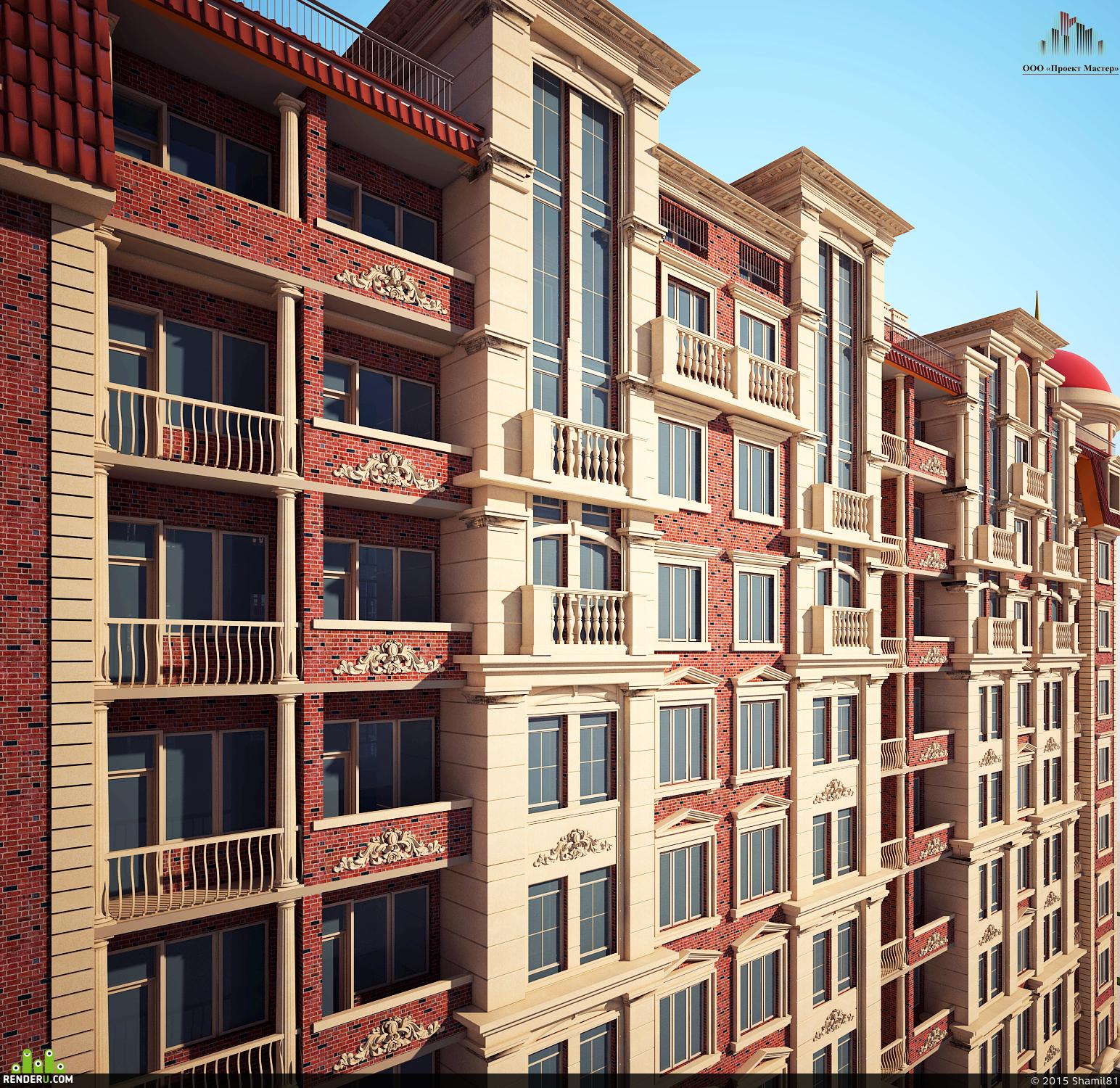 preview 9 этажный жилой дом