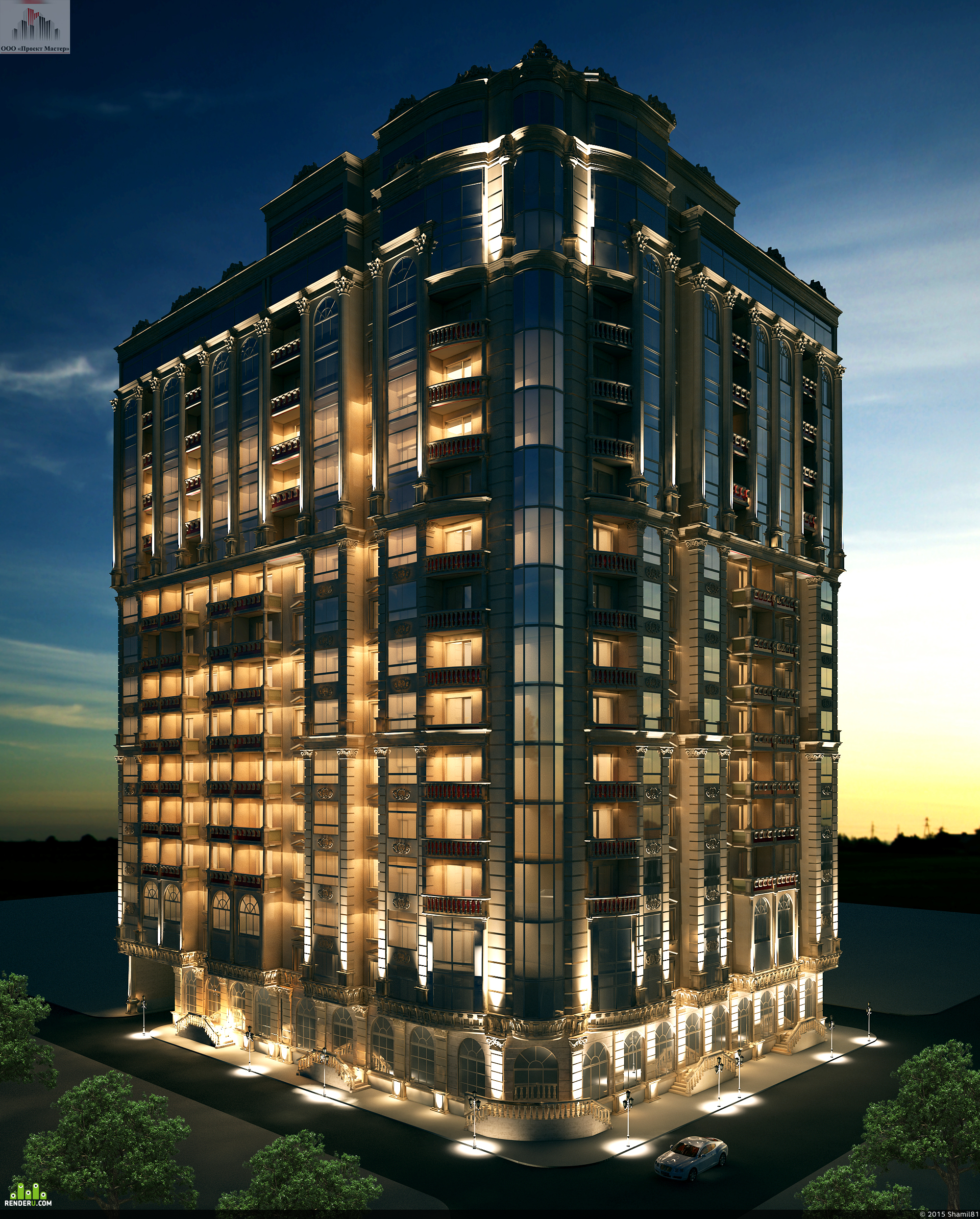 preview 16 этажный жилой дом