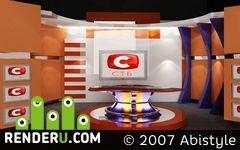 preview Дизайн телестудии СТБ
