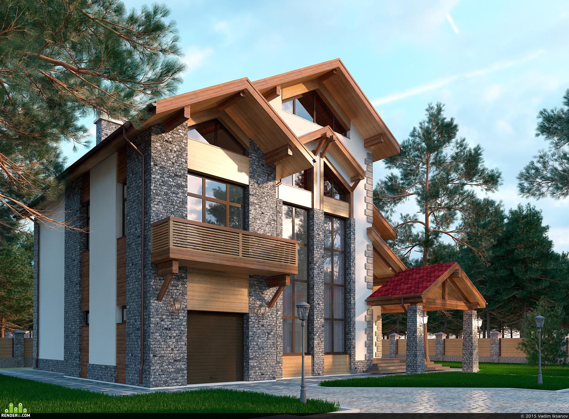 preview Частный дом в городе Сургут