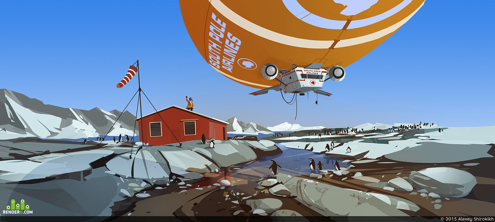 preview south pole airlines