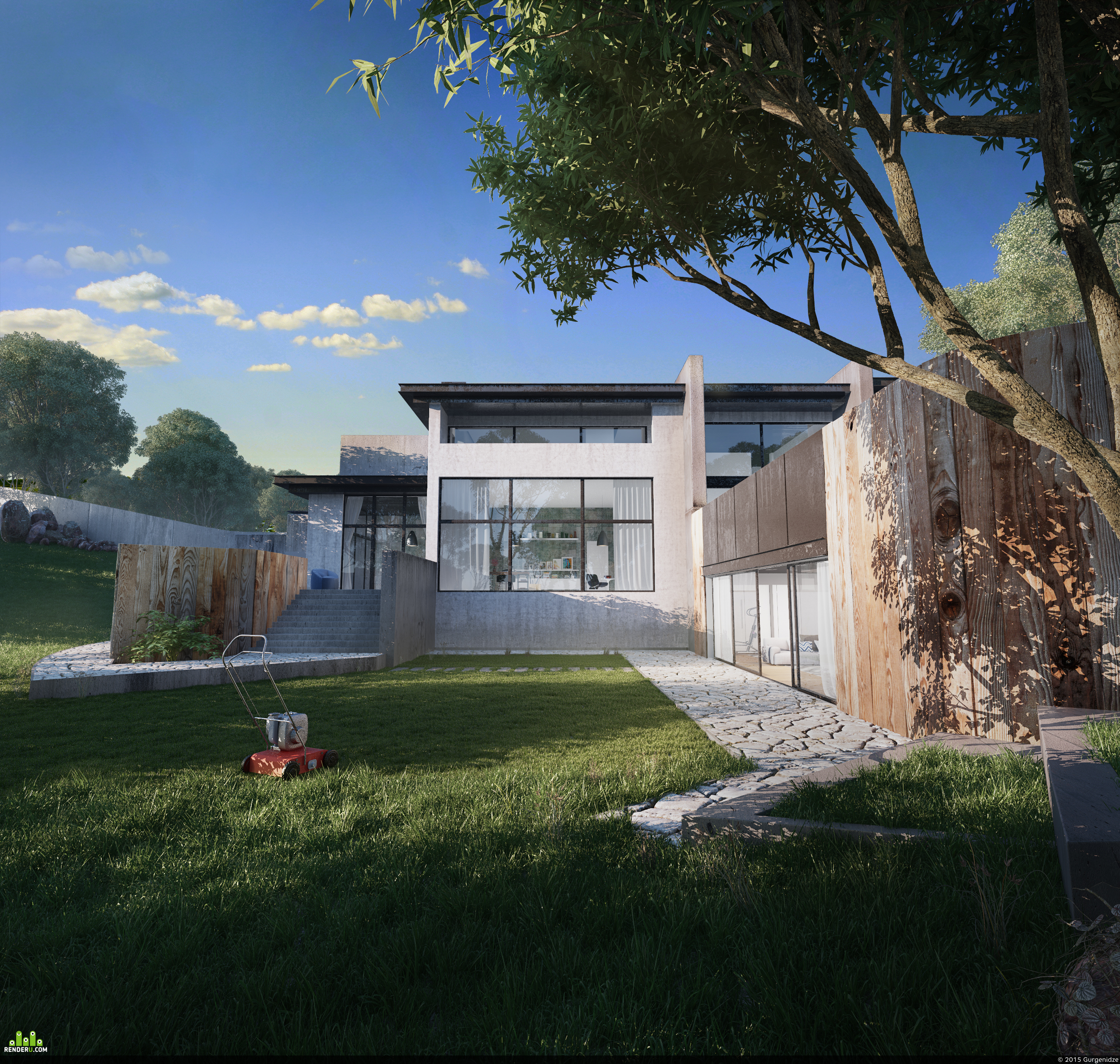 preview ICG Architectural Rendering Challenge