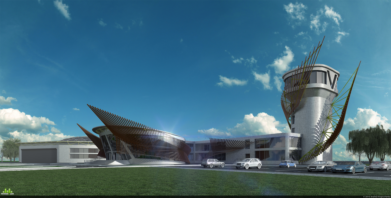 preview Проект аэропрорта для гидропланов