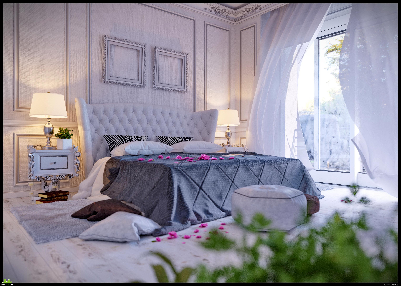 preview Монохромная спальня