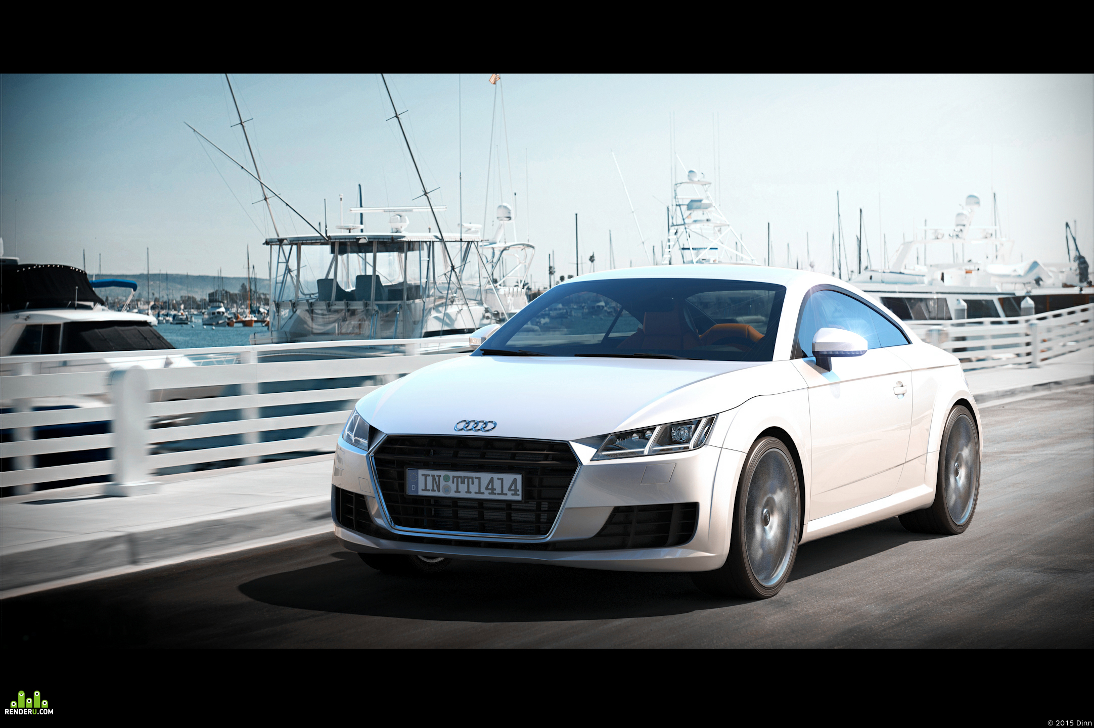 preview Audi TT Coupe (2015)