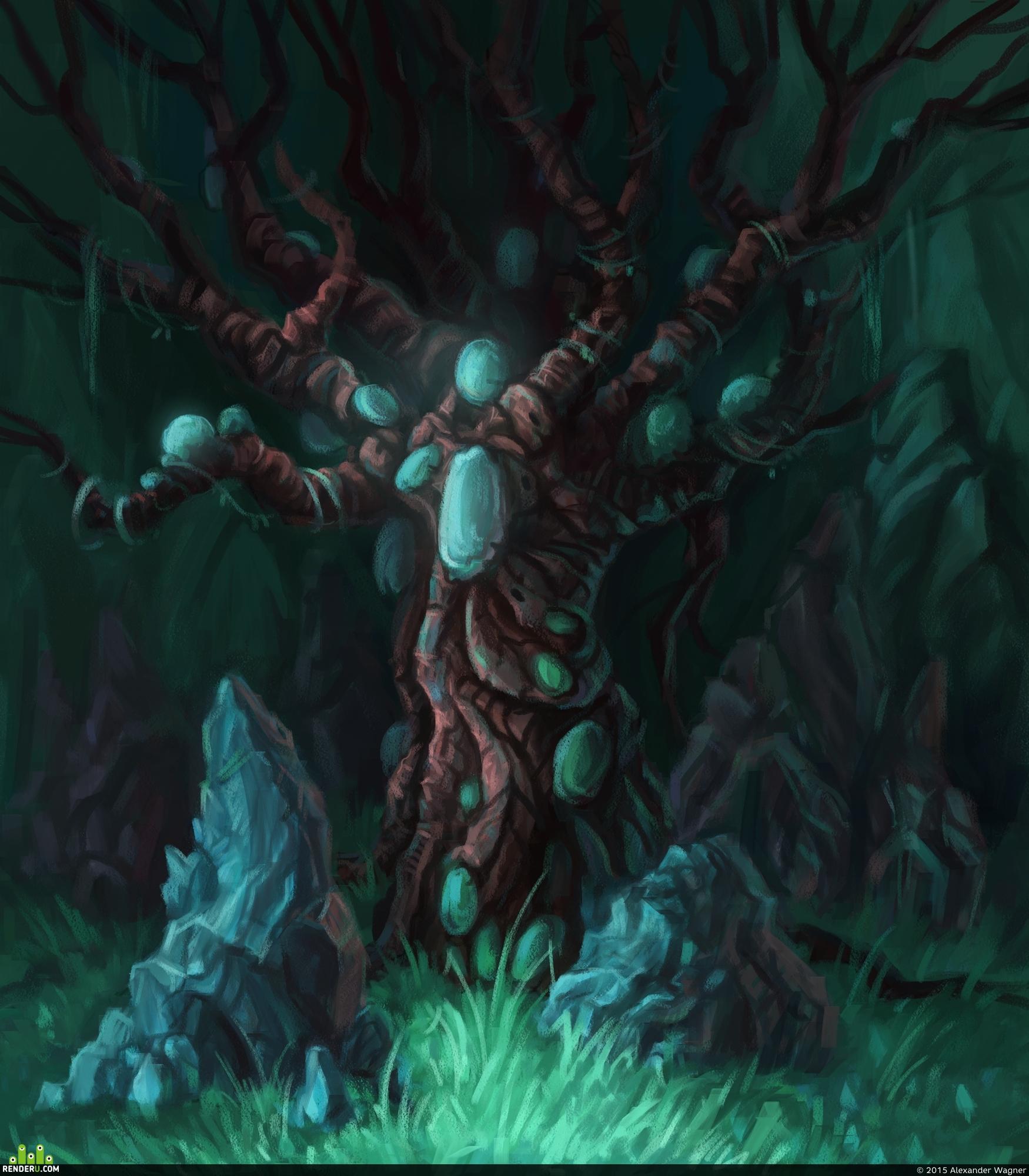 preview Экзотическое дерево