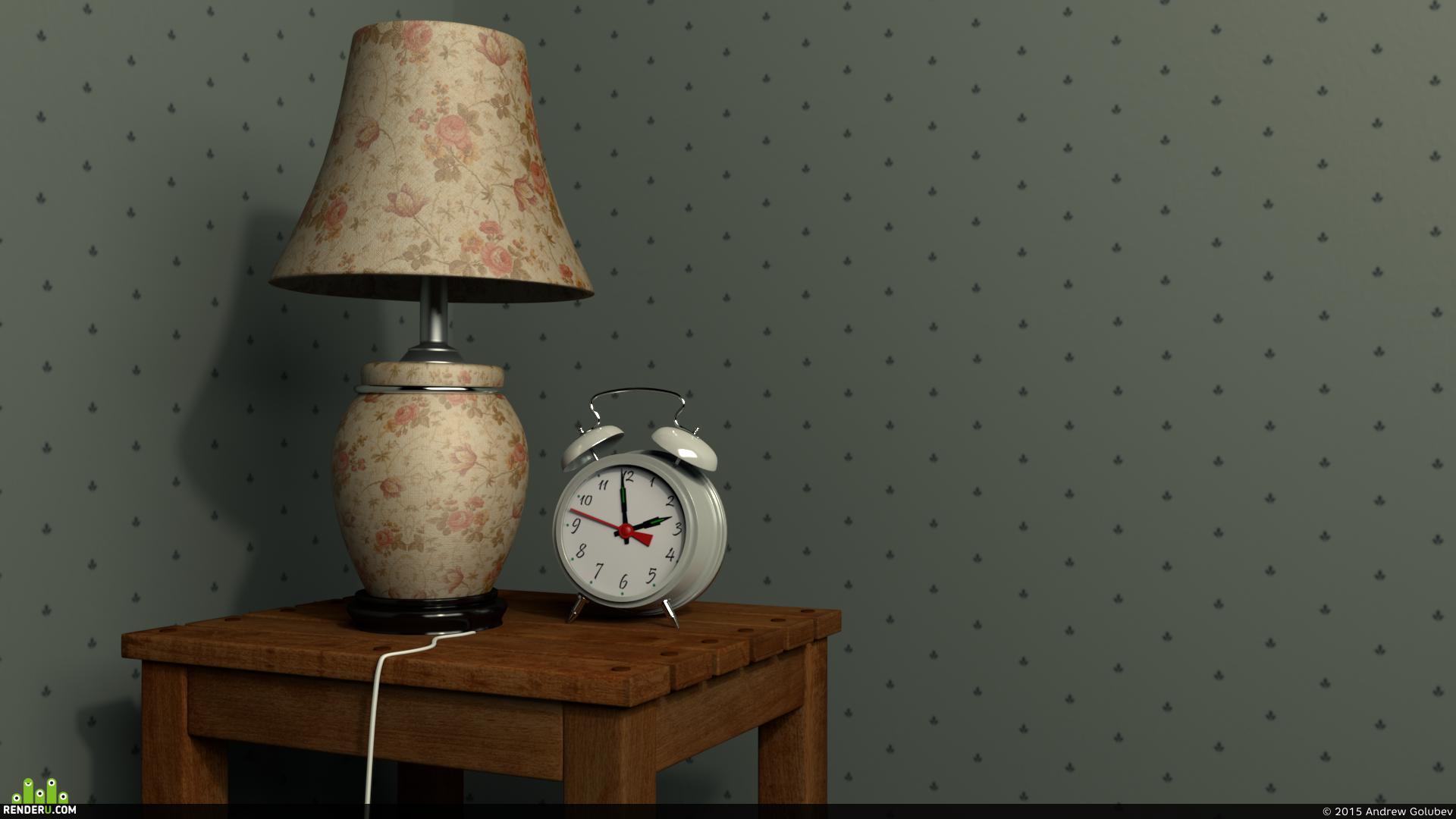 preview Лампа с будильником