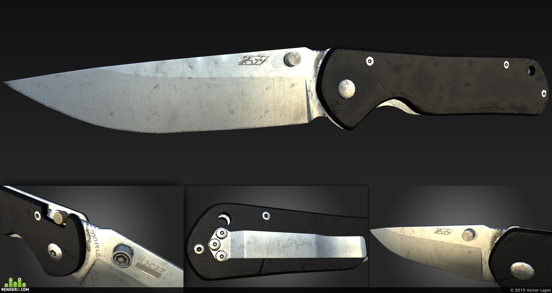 preview Нож SanRenMu 910 Plus