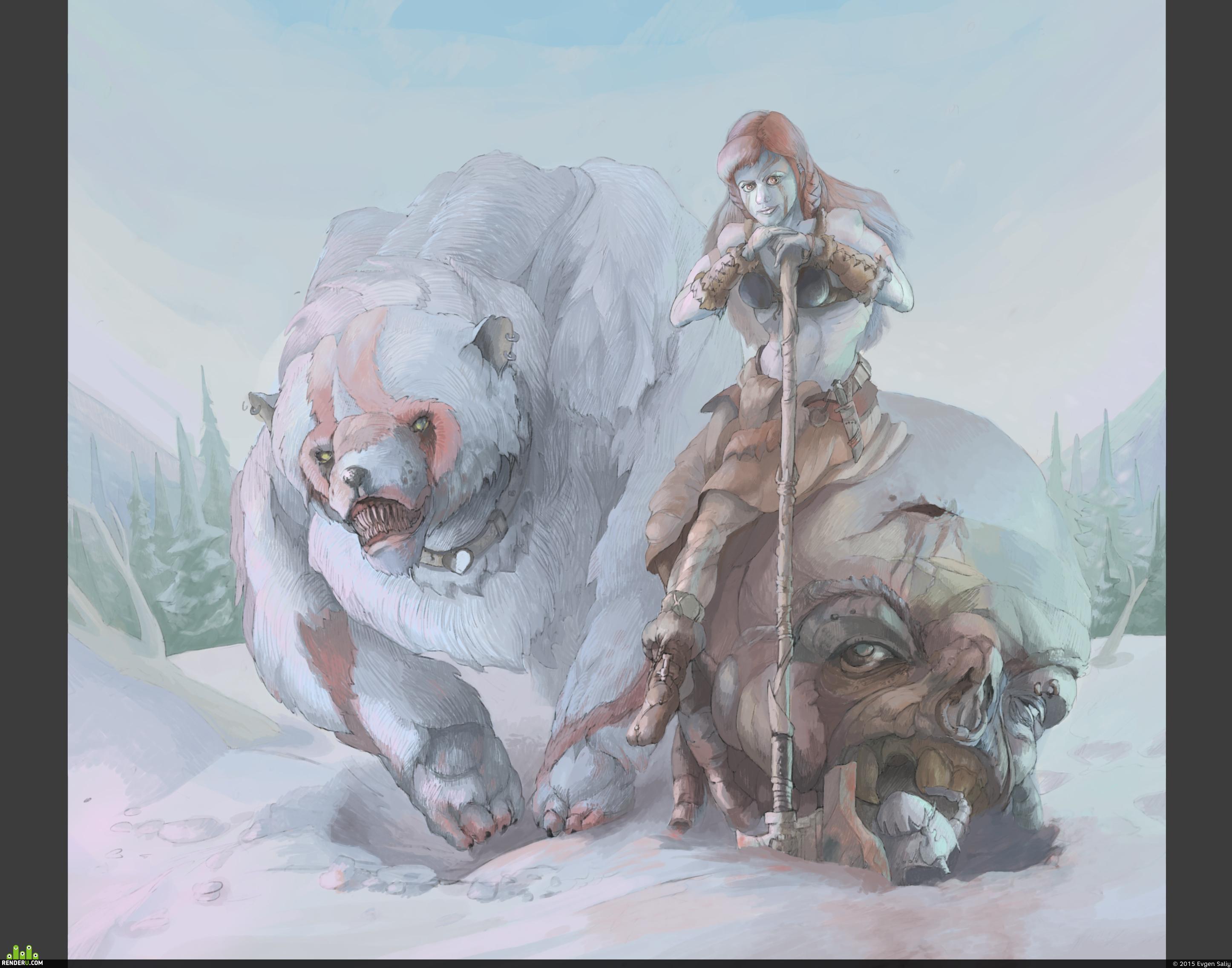preview Юная воительница севера