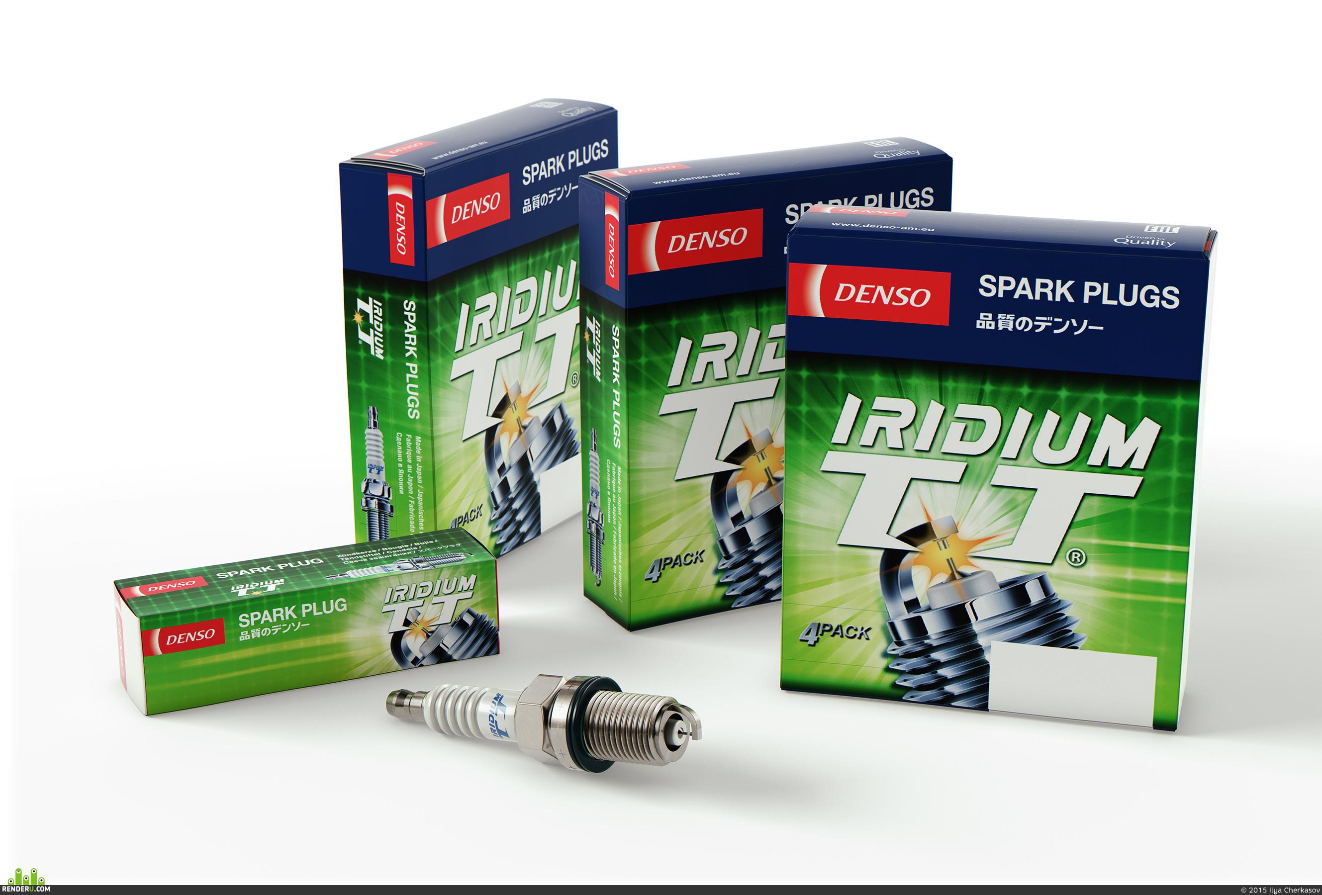 preview Свеча зажигания DENSO Irridium TT