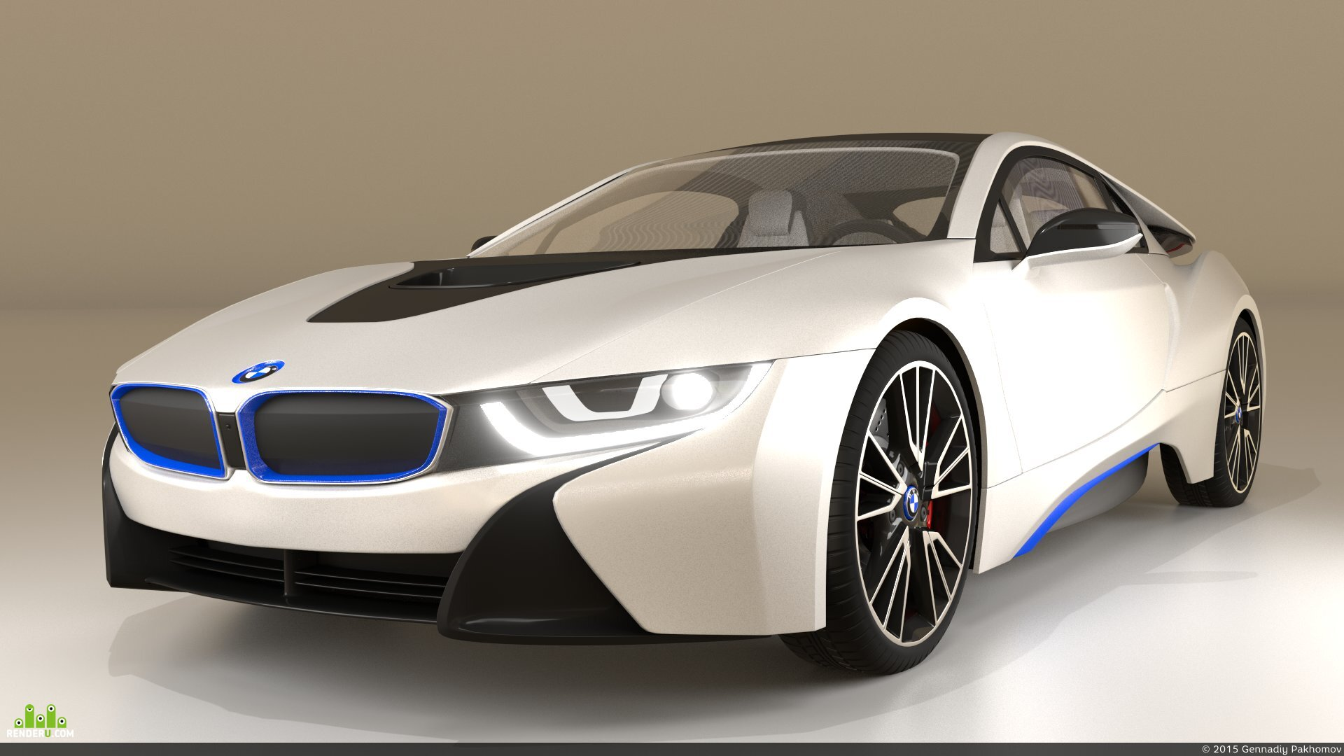 preview bmw i8 2014