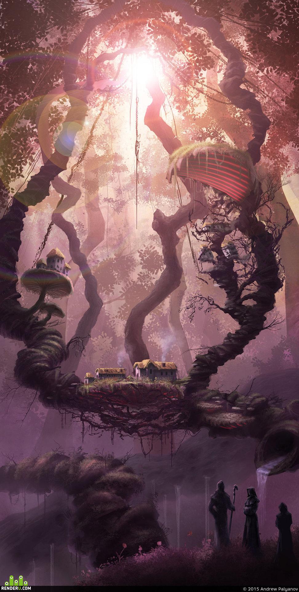 preview Пурпурный лес