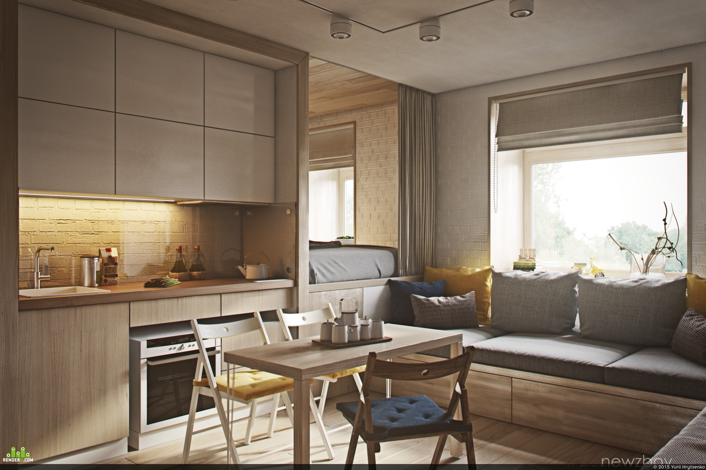 """preview """"Сozy apartments"""""""