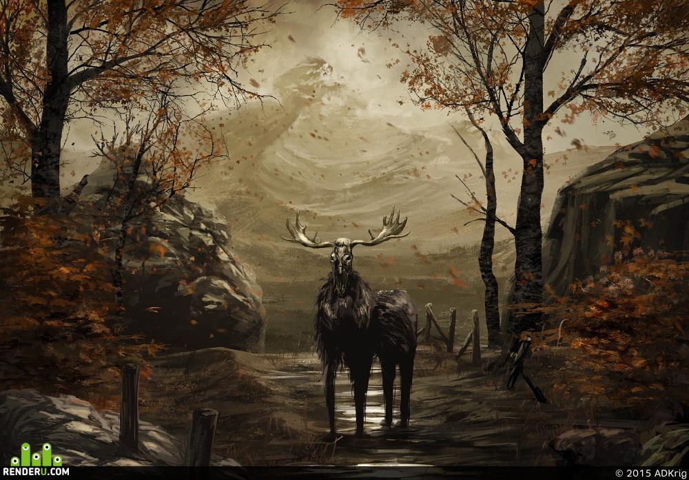 preview Dead moose