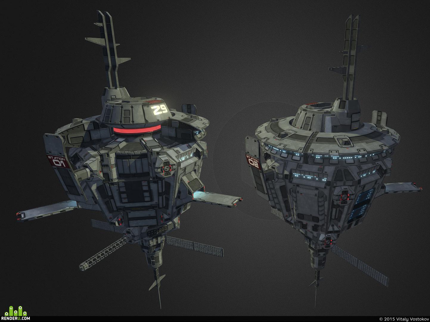 preview Сегментарная космическая станция