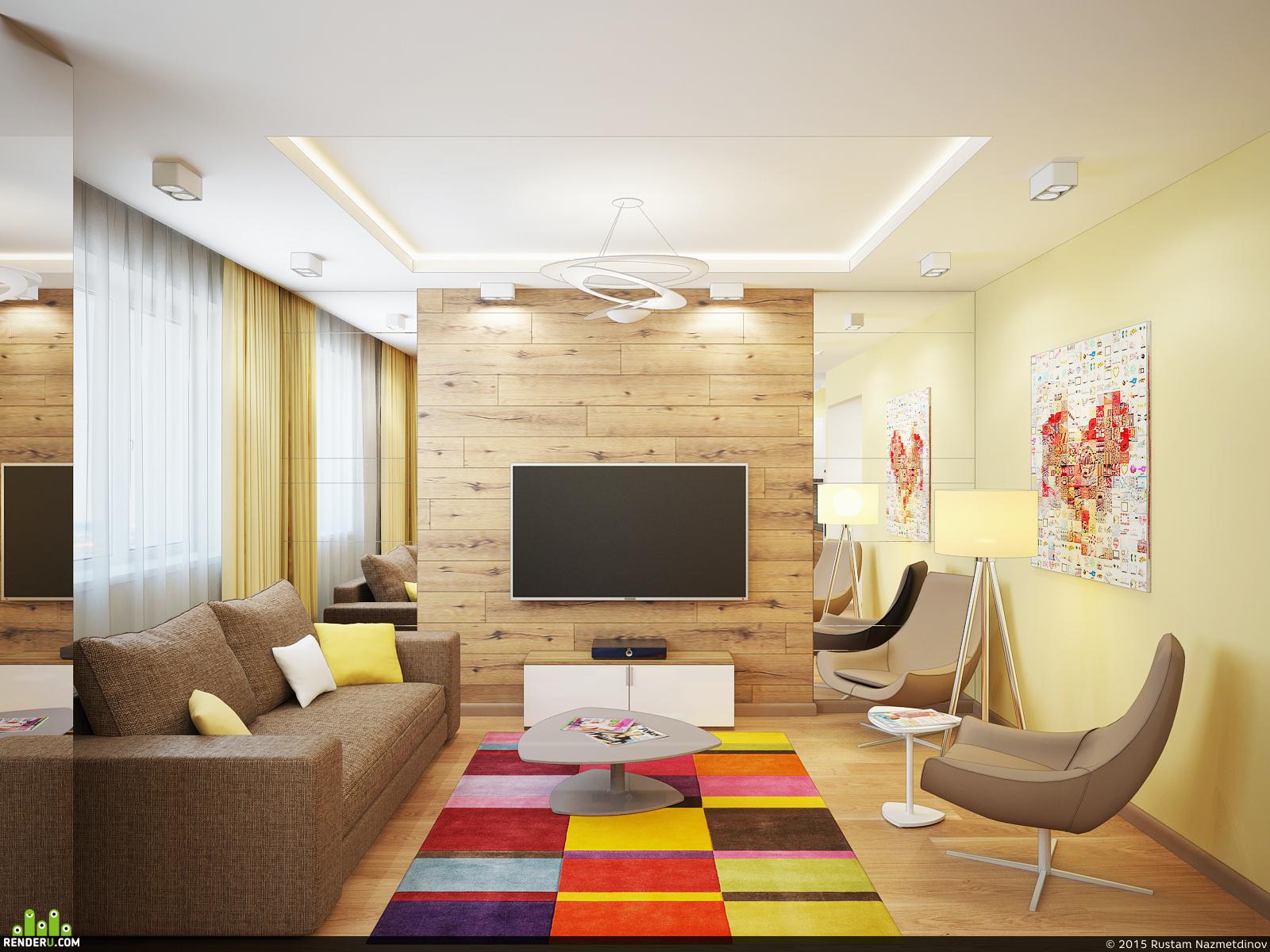 preview Дизайн-проект двухуровневой квартиры 203м2 г. Сургут