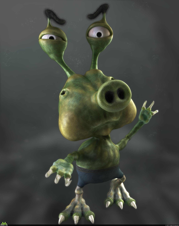 preview Инопланетянин негодует :)