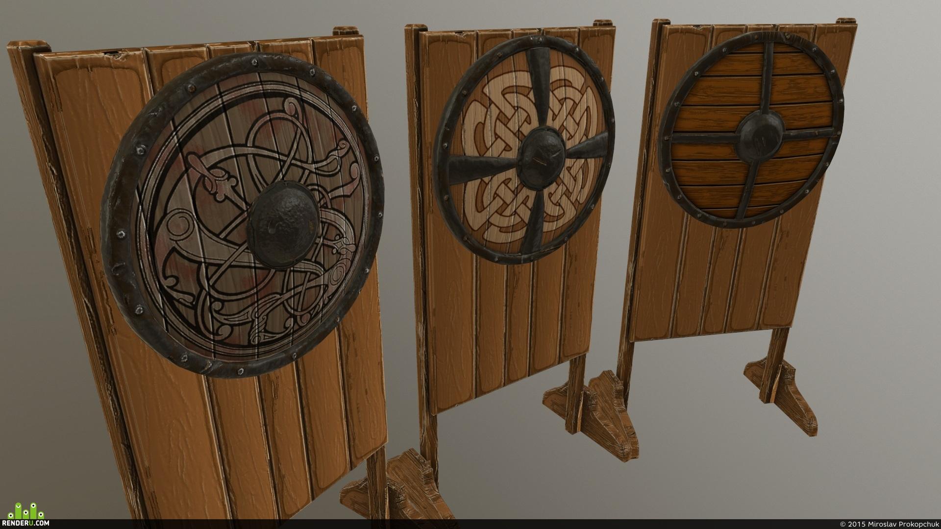 preview Боевые щиты викингов