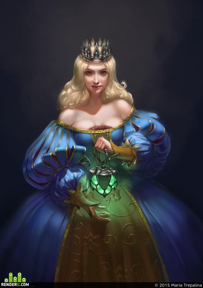 preview зеленый фонарь, зеленый свет.... тетка в платье Ж)