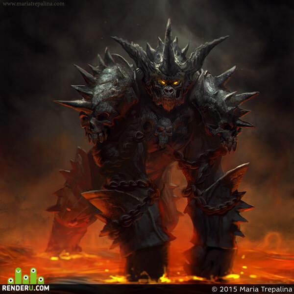 preview Горилла-демон